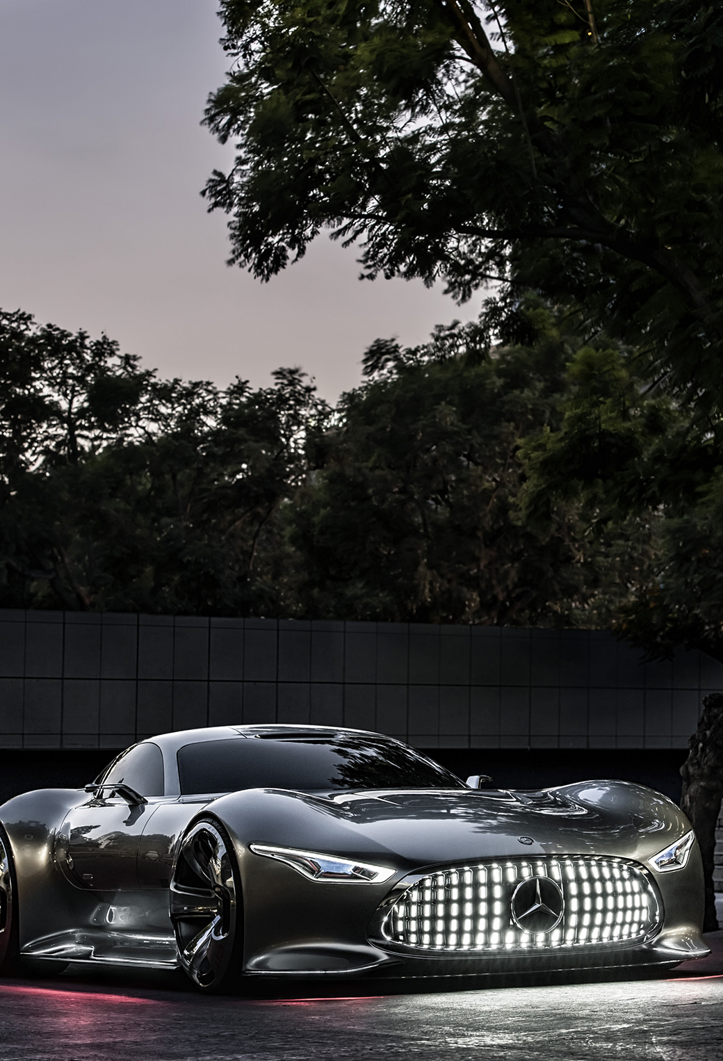 Cartoon Girl Wallpapers Free Download Mercedes Benz Amg Vision Wallpaper For Iphone X 8 7 6