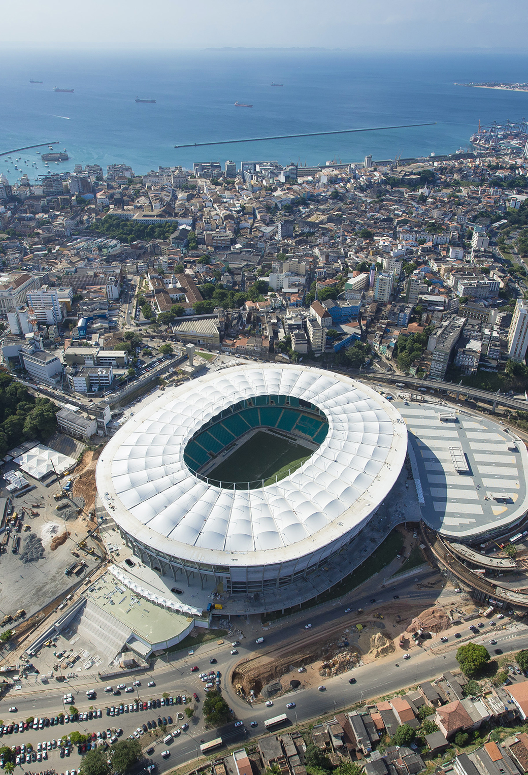 Games Arena World Cup in Brazil 2014 3Wallpapers iPhone parallax Games Arena World Cup in Brazil 2014