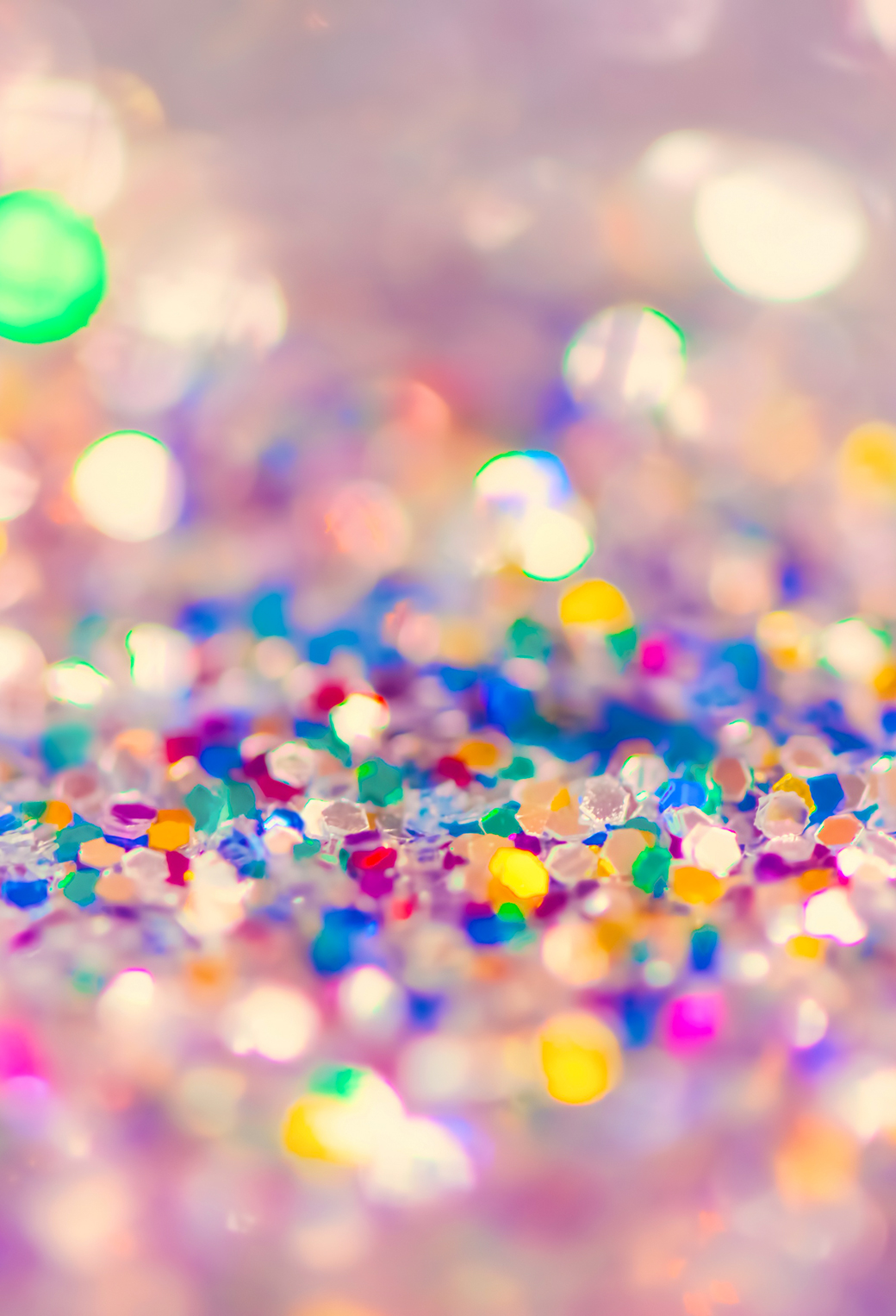 Colorful Glitter 3Wallpapers iPhone Parallax Colorful Glitter