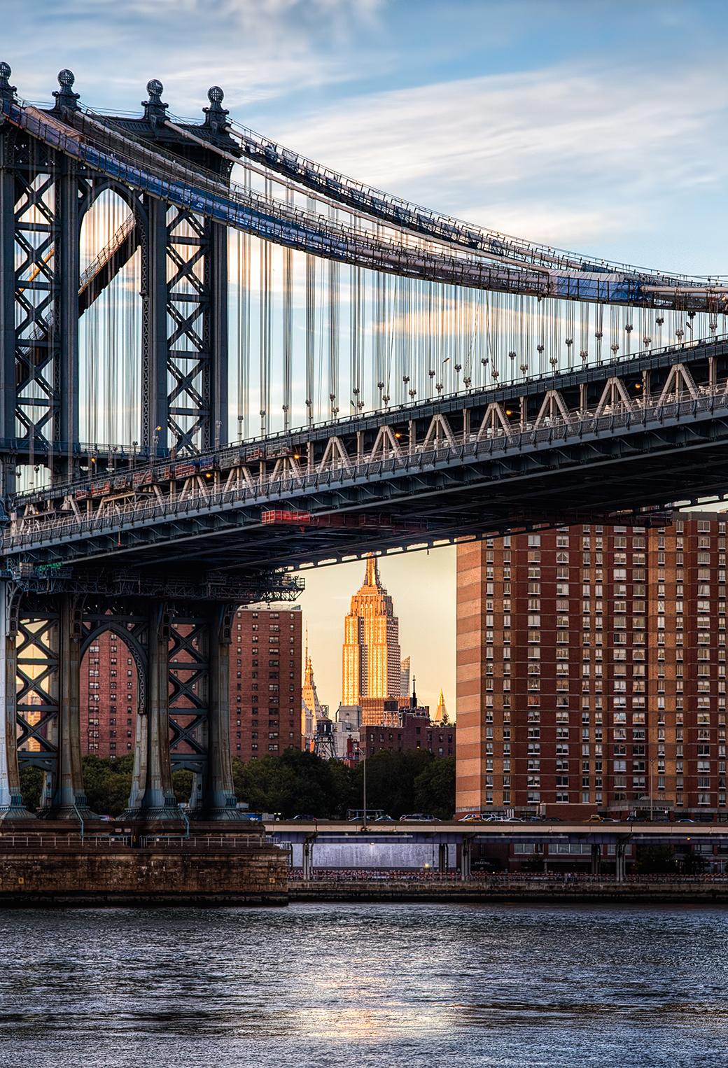 Manhattan Bridge 3Wallpapers iPhone parallax Manhattan Bridge