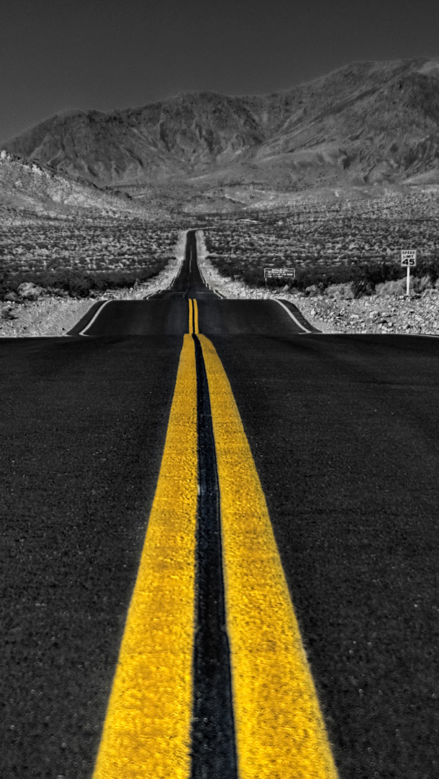 Infinity Road 3Wallpapers iPhone Parallax Infinity Road