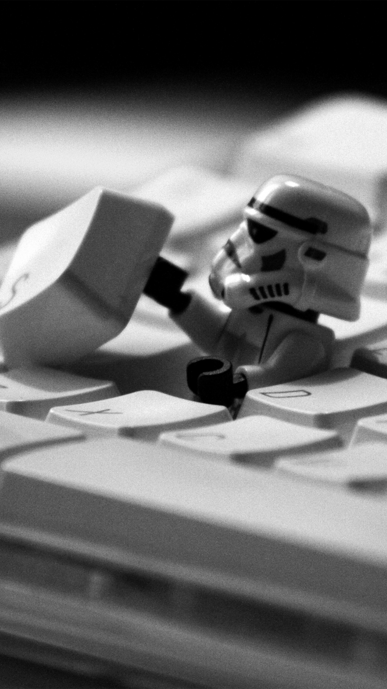 lego star wars keyboard 3wallpapers parallax iPhone Lego star wars keyboard