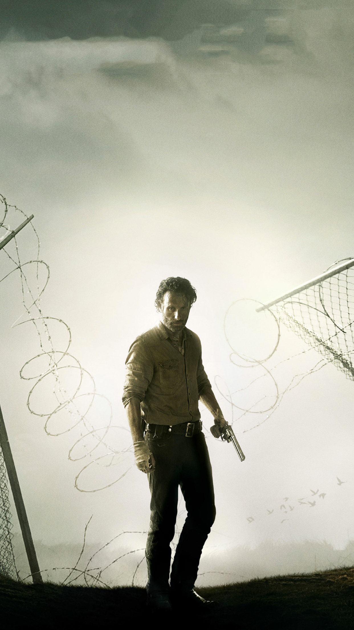 The walking dead rick iPhone 3Wallpapers Parallax The Walking Dead Rick