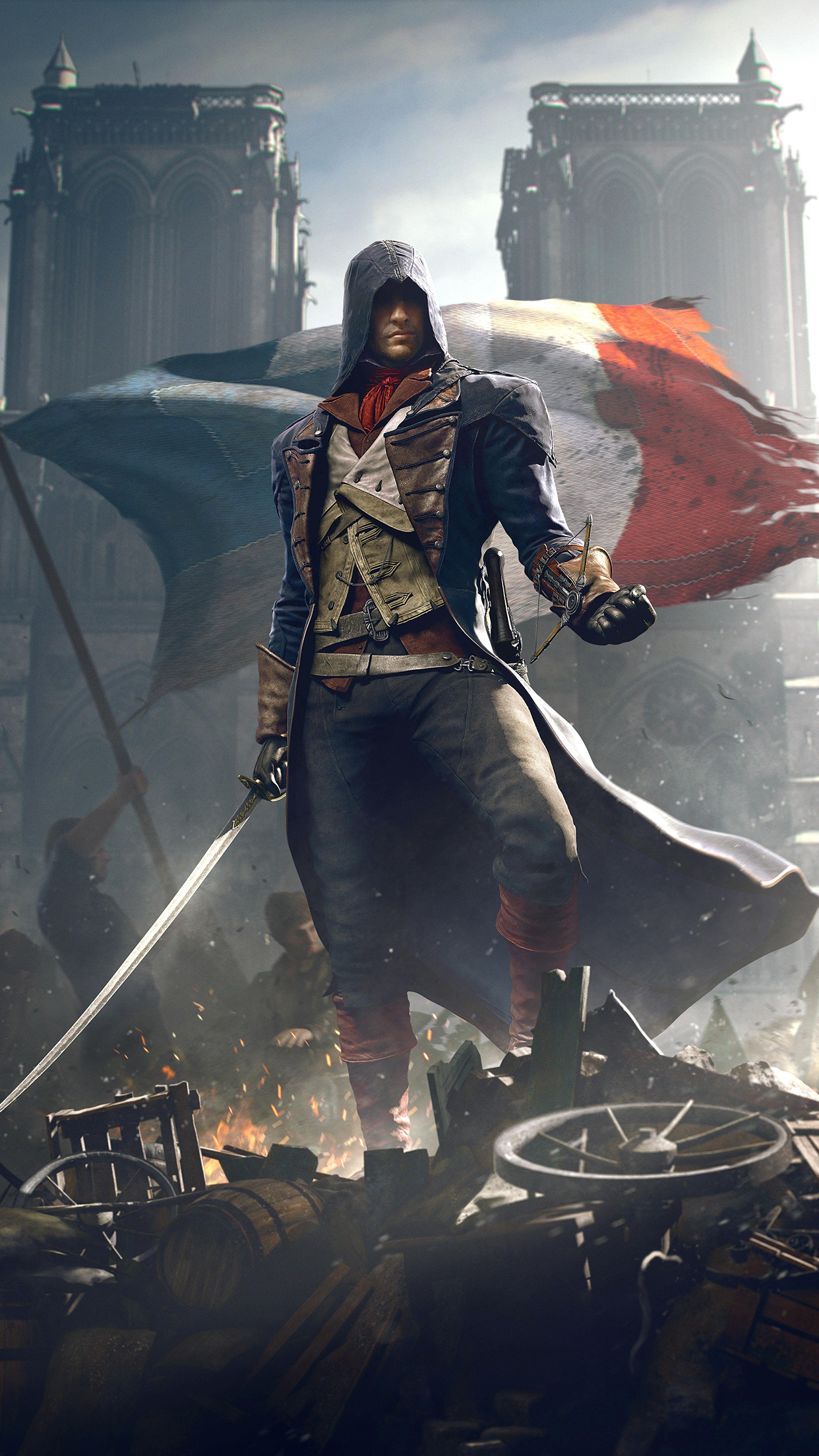 assassins creed unity iPhone 3Wallpapers Parallax Assassins Creed Unity