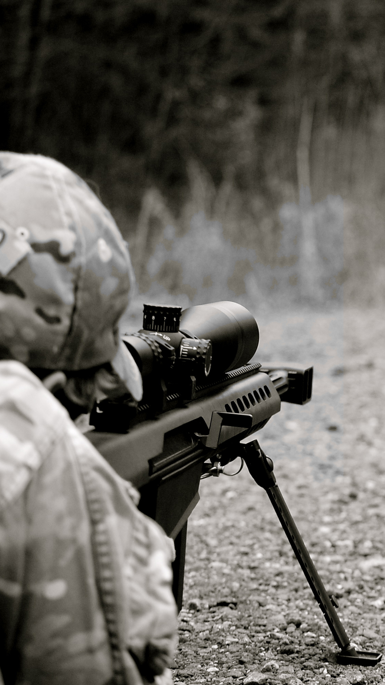 Airsoft sniper iPhone 3Wallpapers Parallax Airsoft sniper