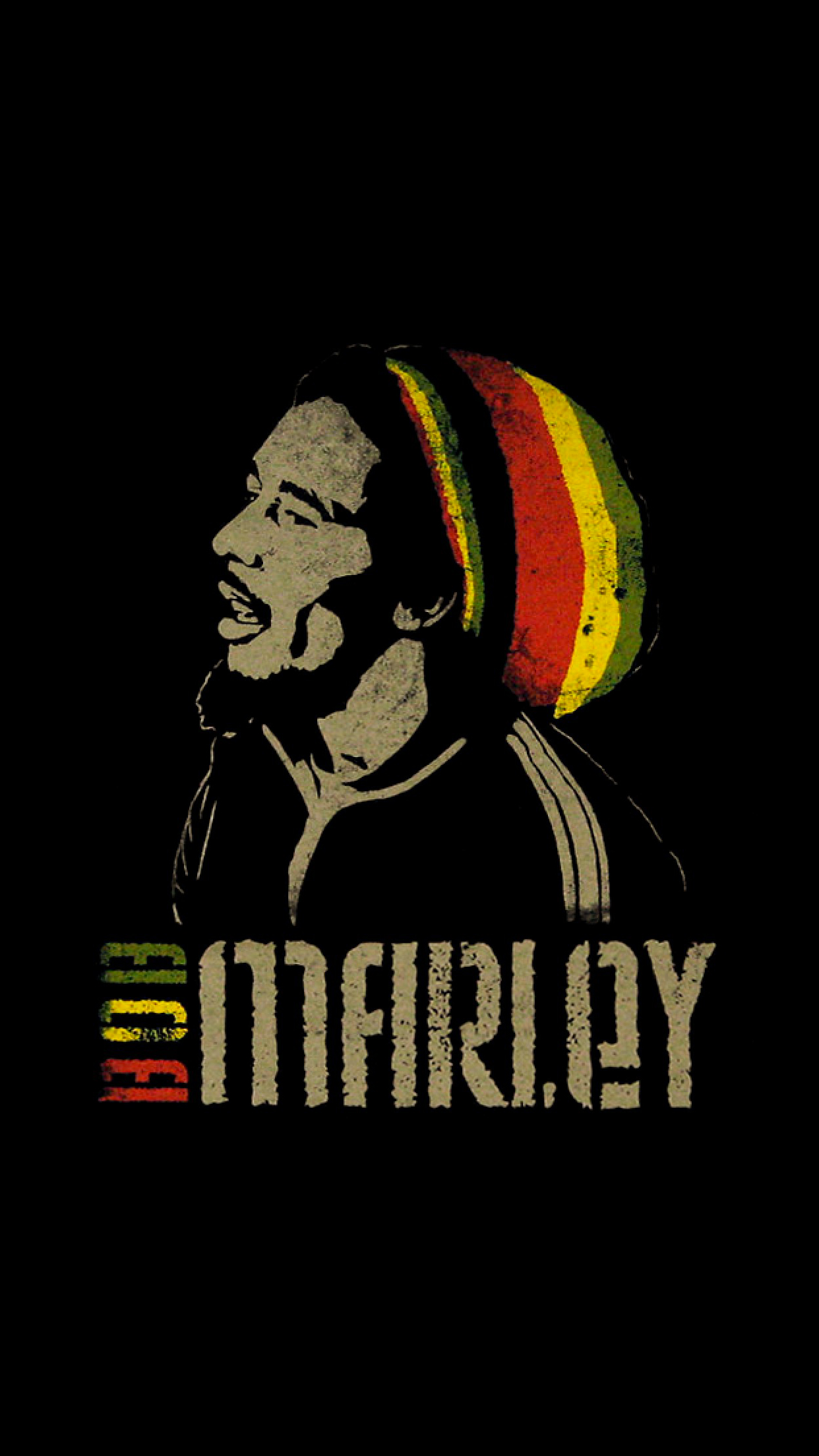 Bob Marley iPhone 3Wallpapers Parallax Bob Marley