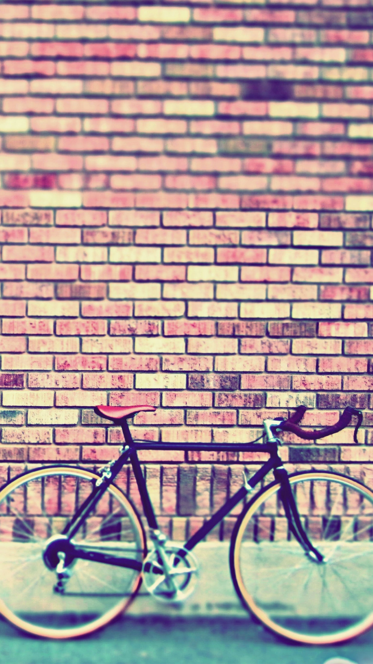 Fixie Vintage iPhone 3Wallpapers Parallax Fixie Vintage