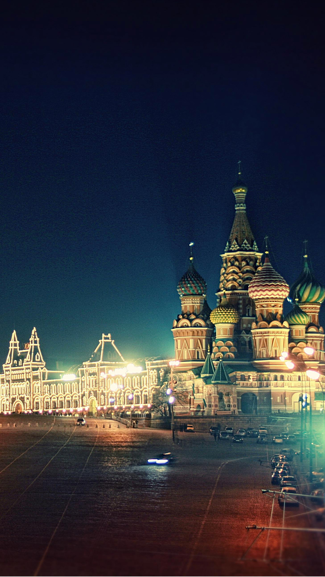 Moscow iPhone 3Wallpapers Parallax Moscow