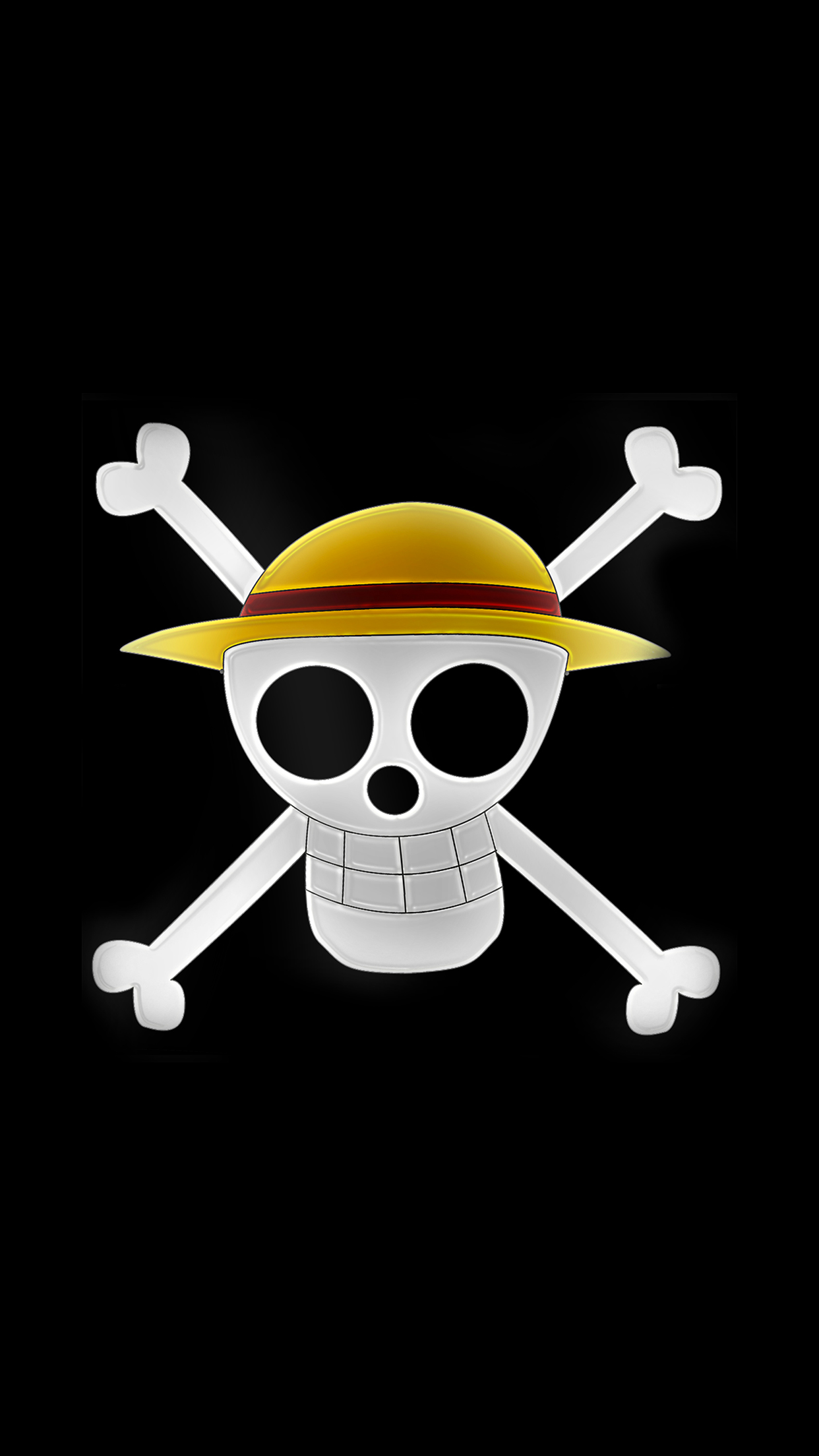 I say this with love: One Piece Logo Wallpaper for iPhone 11, Pro Max, X, 8, 7 ...