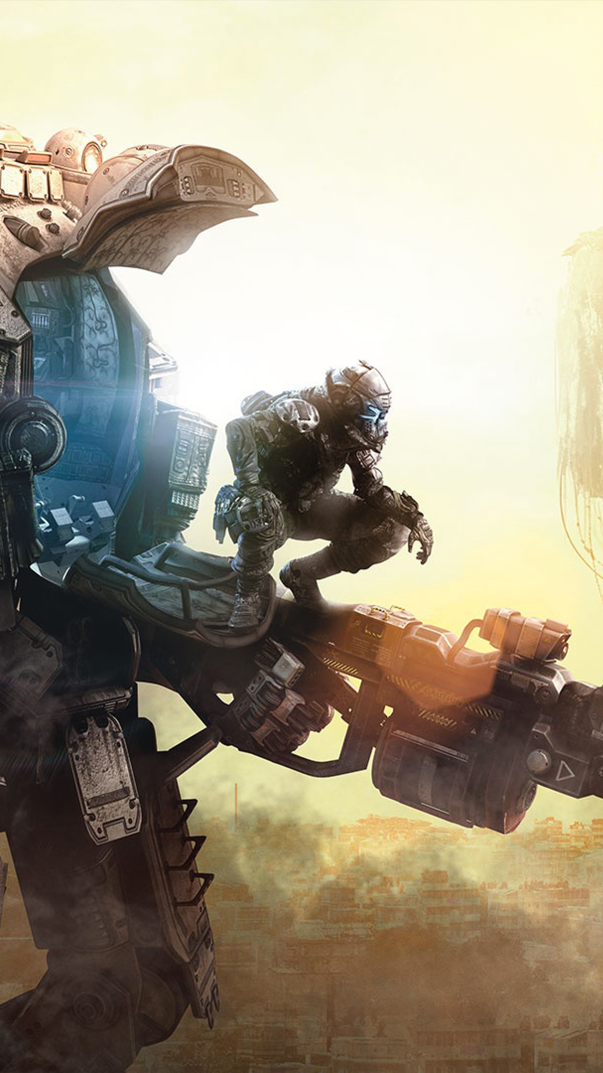 Titanfall iPhone 3Wallpapers Parallax Titanfall