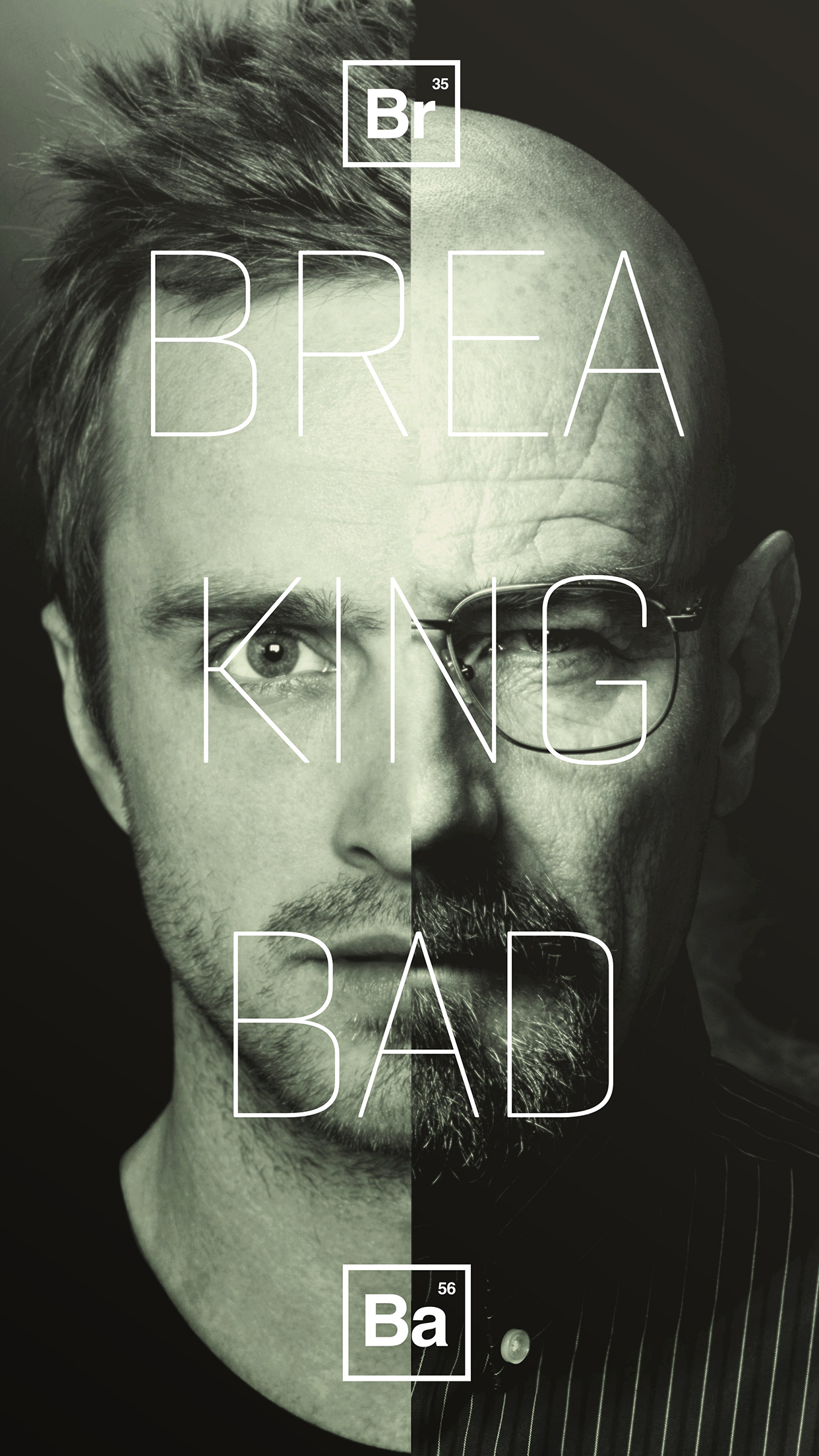 Breaking Bad Poster 3Wallpapers iPhone Parallax Breaking Bad Poster
