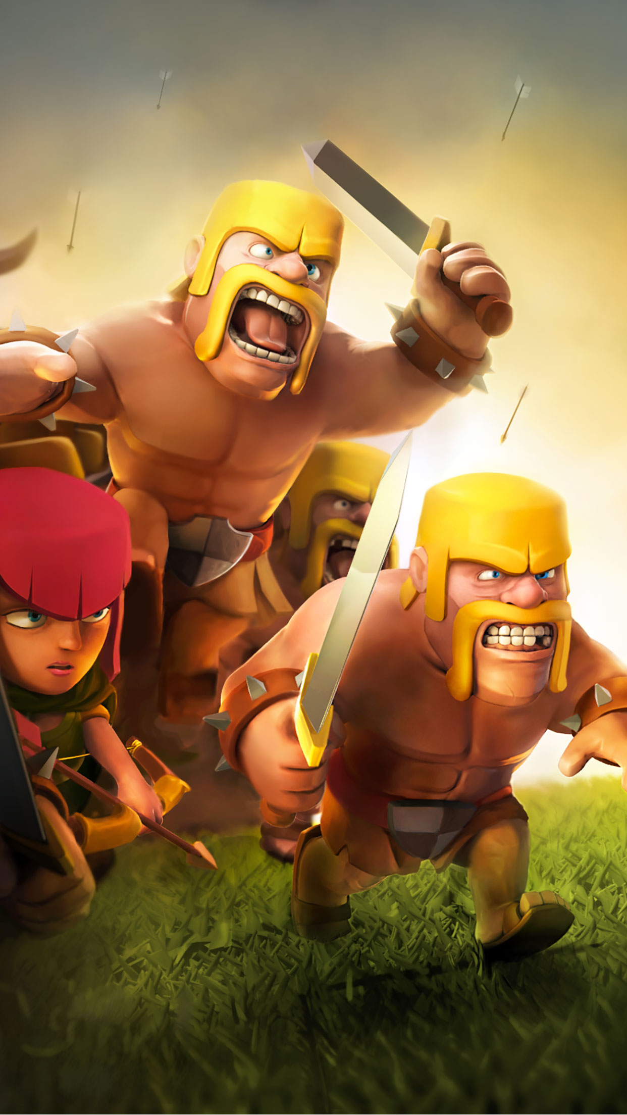 Clash Of Clans 3Wallpapers iPhone Parallax Clash Of Clans
