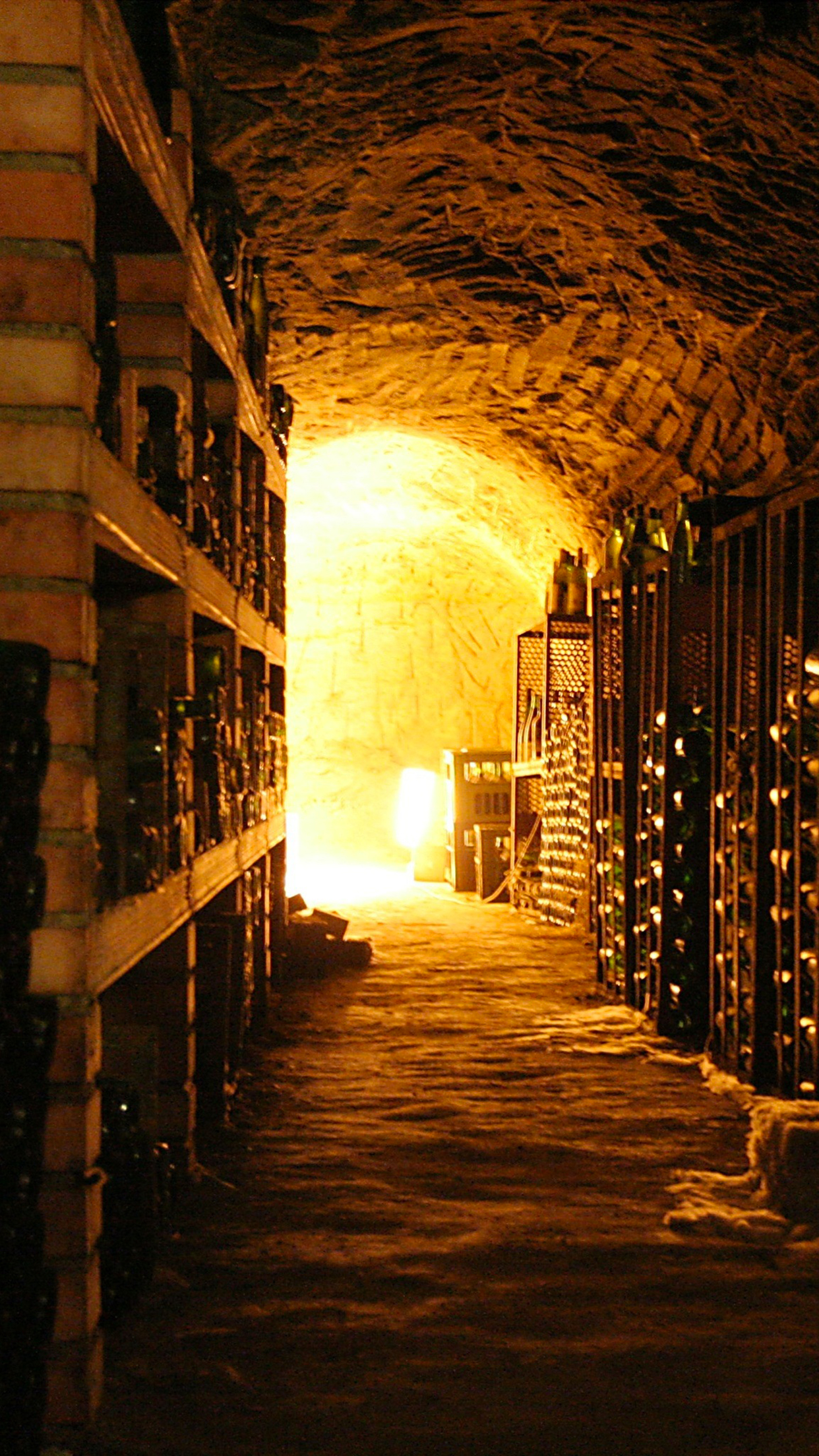 Wine Cave iPhone 3Wallpapers Parallax Wine Cave