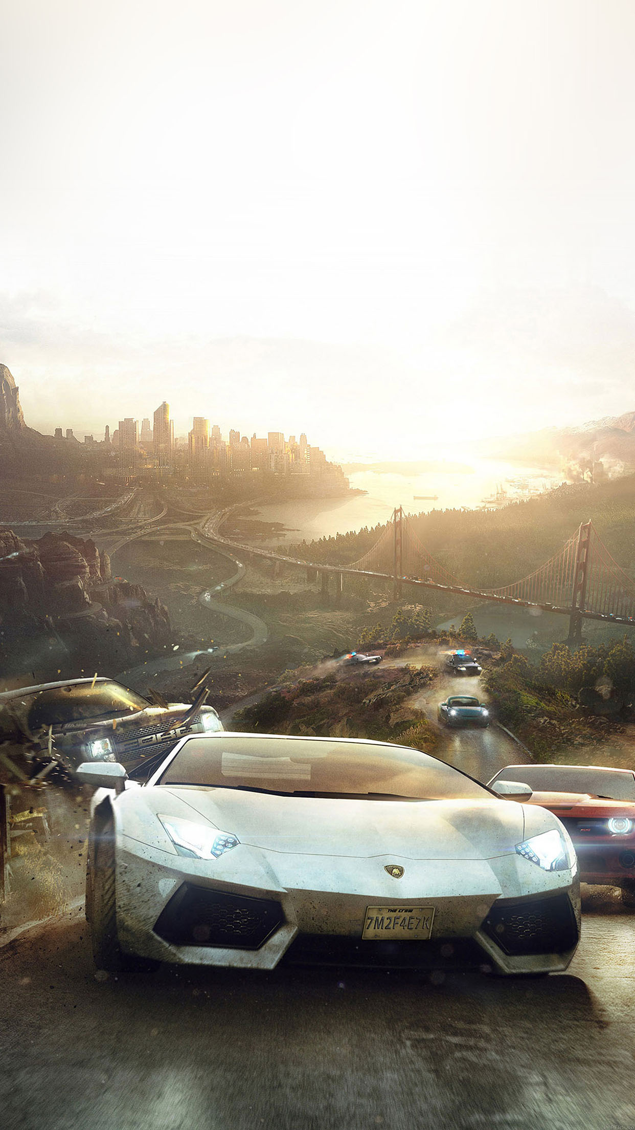 the crew course 3Wallpapers iPhone Parallax The Crew Race
