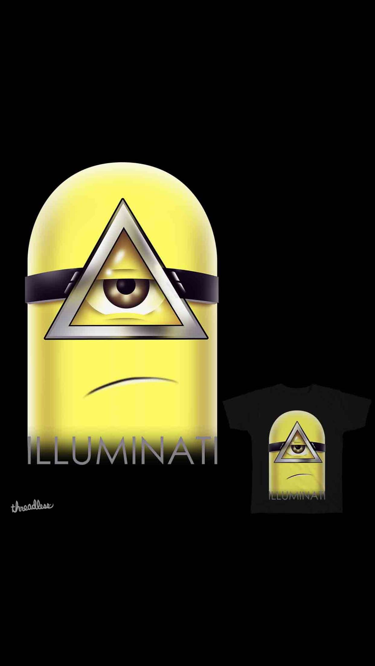 illuminati minions 3 3Wallpapers iPhone Parallax Illuminati Minions