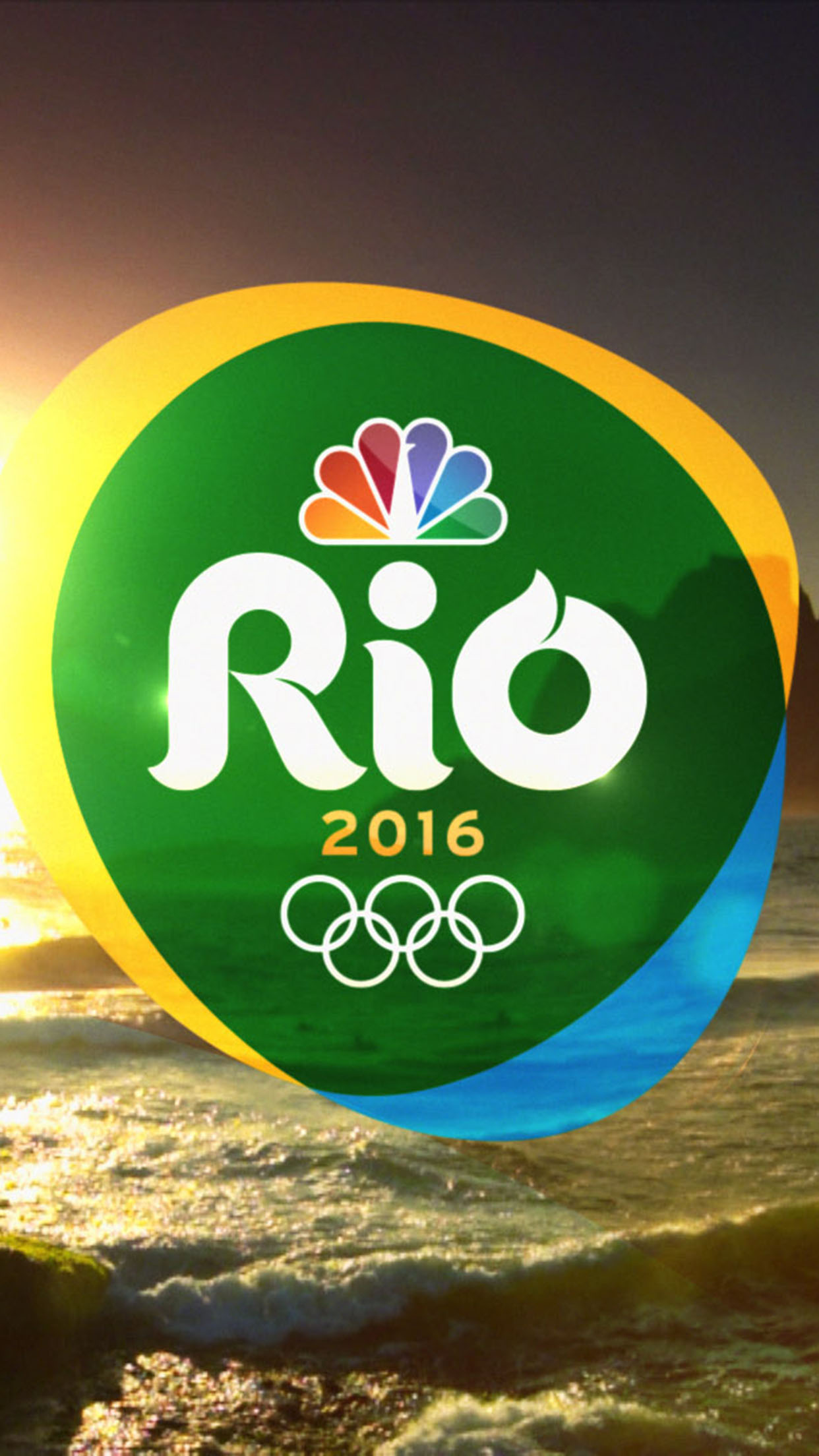 JO RIO 2016 LOGO 3Wallpapers iPhone Parallax JO Rio 2016 Logo