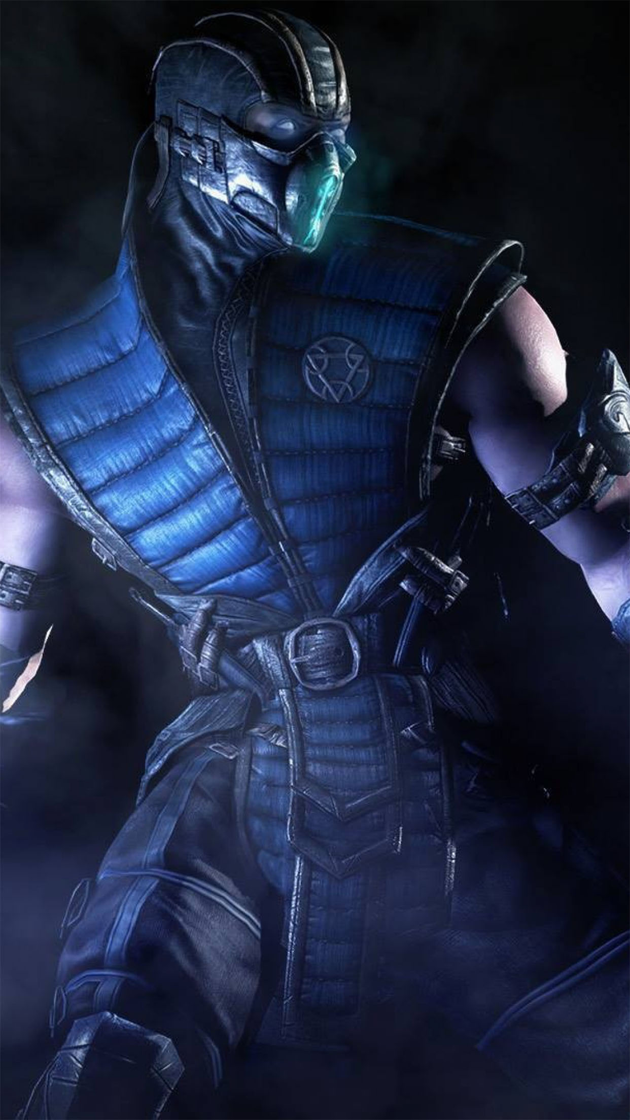 Sub Zero Mortal Kombat X Iphone Wallpaper Sub Zero Wallpaper For Iphone X 8 7 6 Free Download