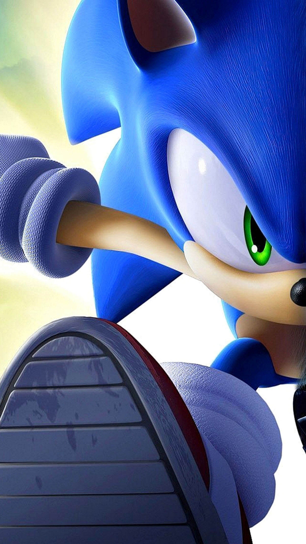 Sonic Sonic 1 3Wallpapers iPhone Parallax Sonic 1