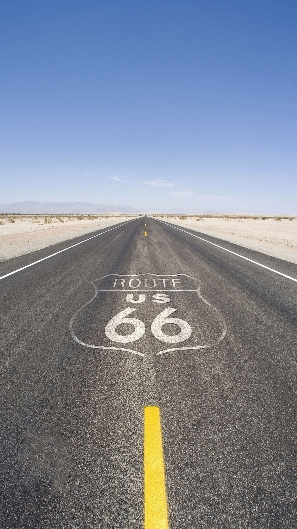 Iphone X Parallax Wallpaper Route 66 3 Wallpaper For Iphone X 8 7 6 Free