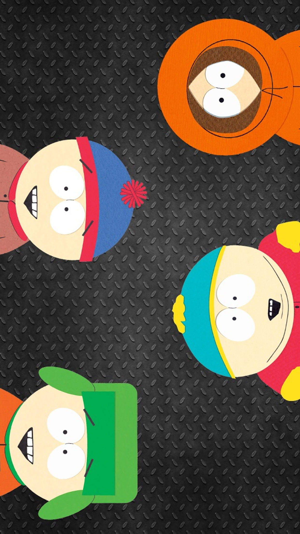 South park Family 3Wallpapers iPhone Parallax South park family