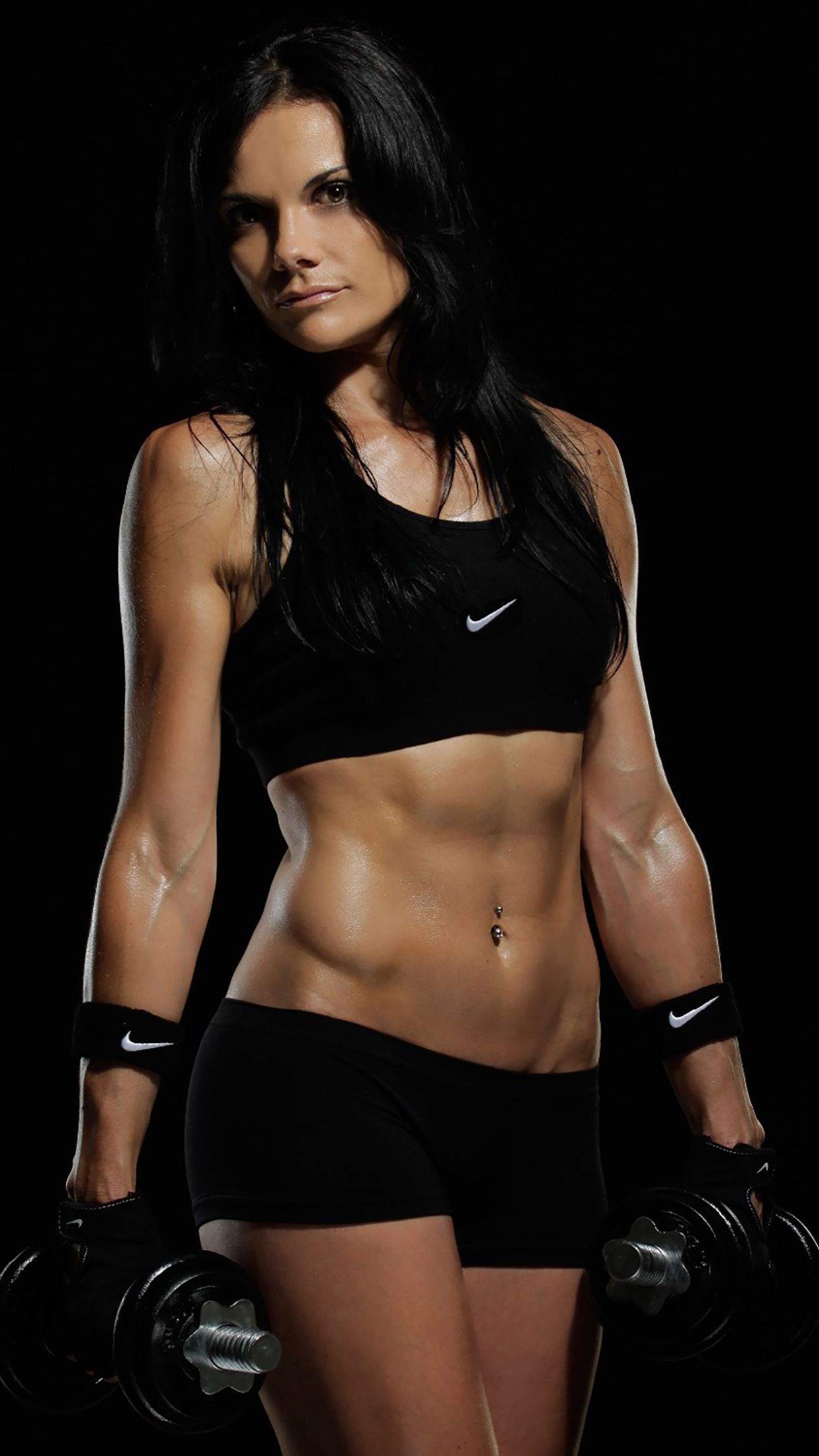 Fitness Girl Gym 3Wallpapers iPhone Parallax Fitness : Girl Gym
