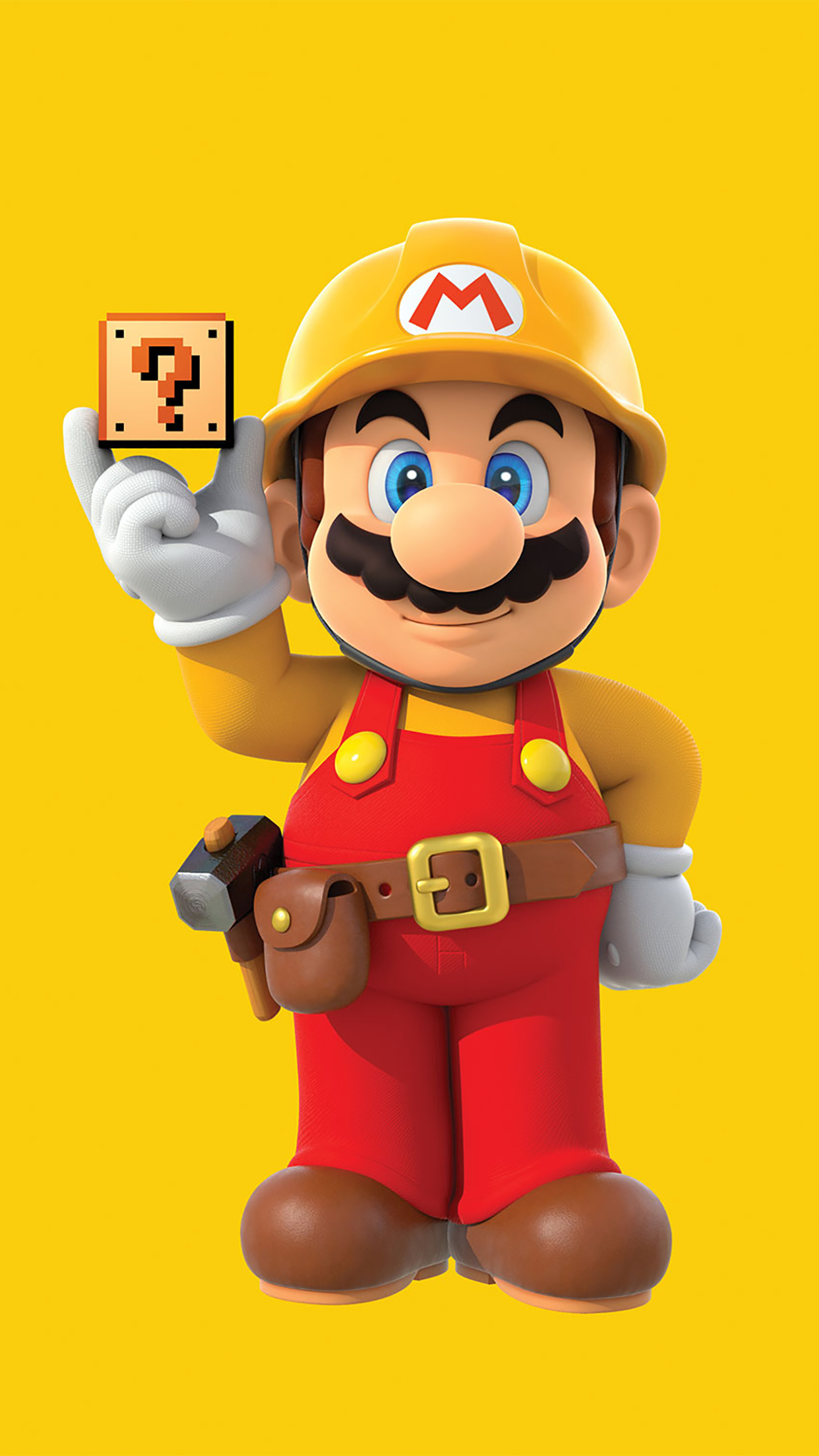 Super Mario Stand Up 3Wallpapers iPhone Parallax Super Mario : Stand Up