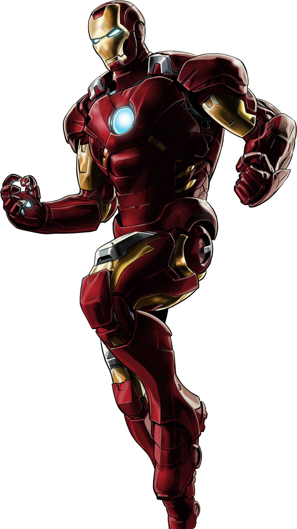 Iron Man Standing 3Wallpapers iPhone Parallax Iron Man : Standing
