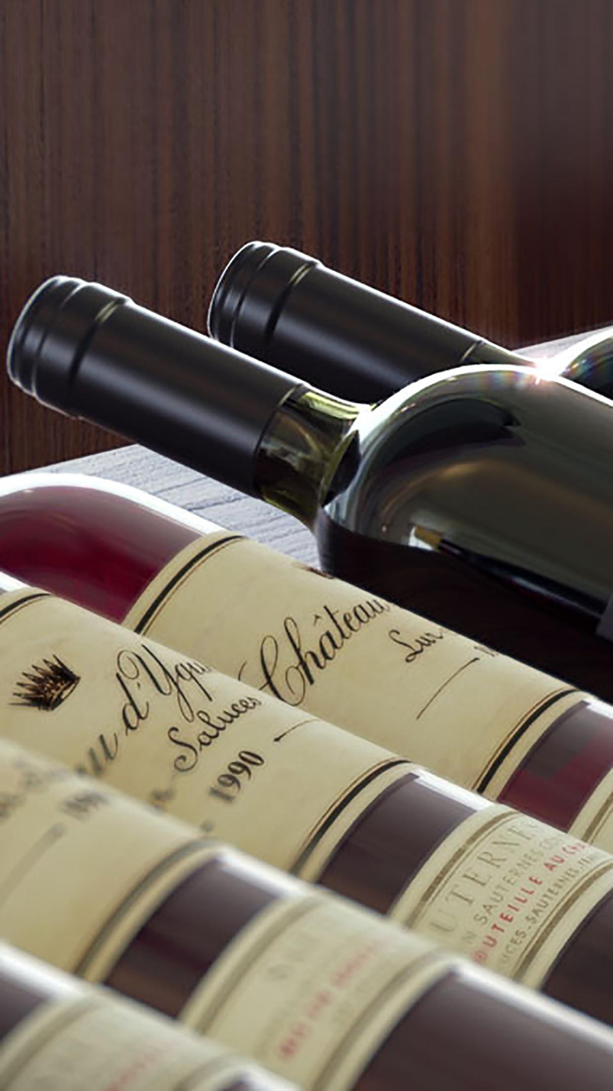 Wine Cellar 1 3Wallpapers iPhone Parallax Wine Cellar : 1