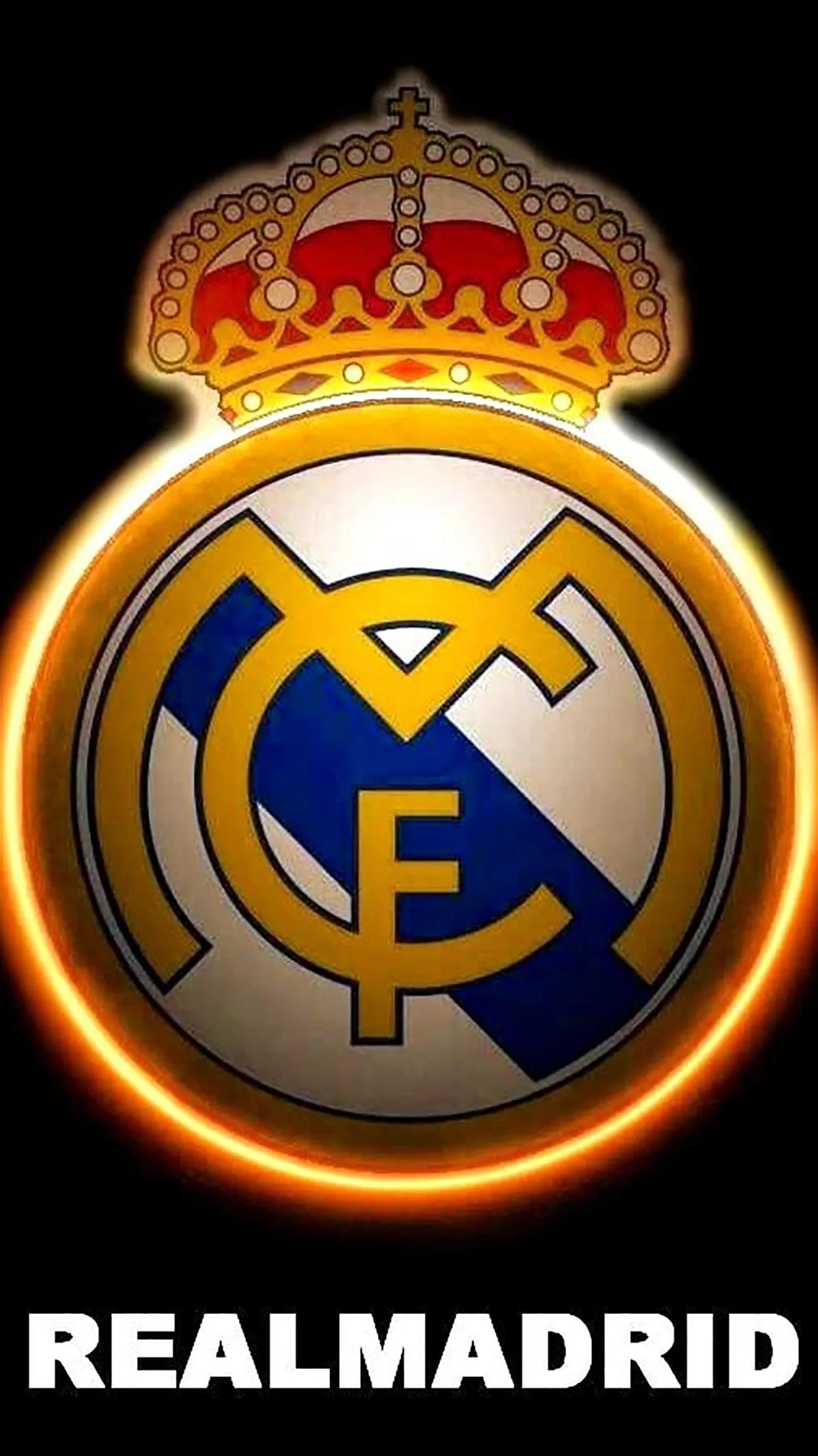 Real Madrid Logo 3 3Wallpapers iPhone Parallax Real Madrid : Logo 3