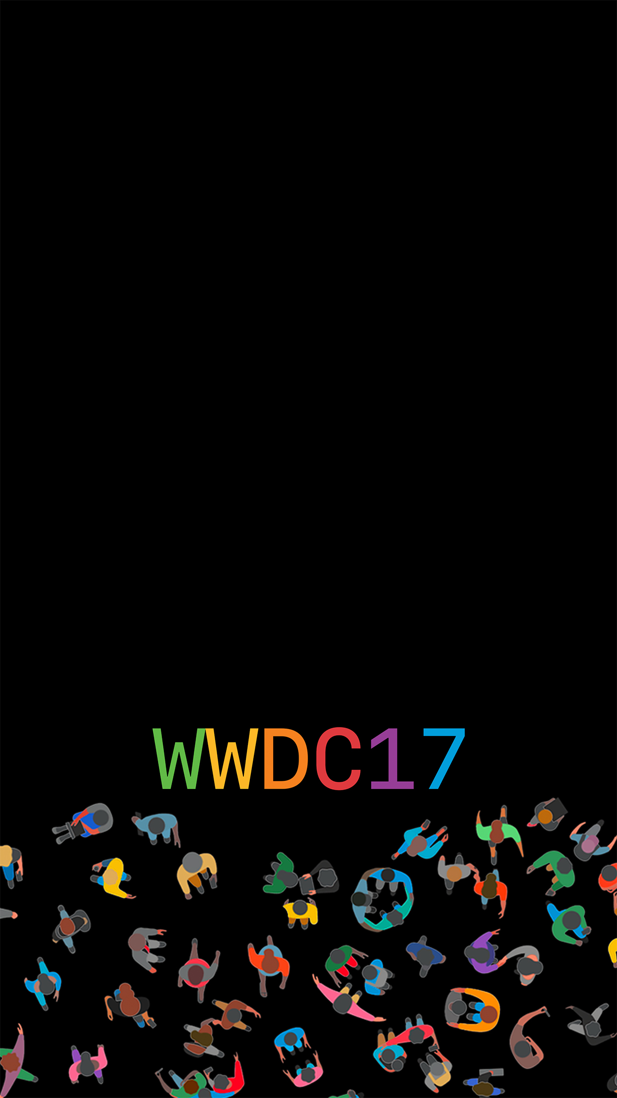 WWDC 2017 2 3Wallpapers iPhone Parallax WWDC 2017 : 2