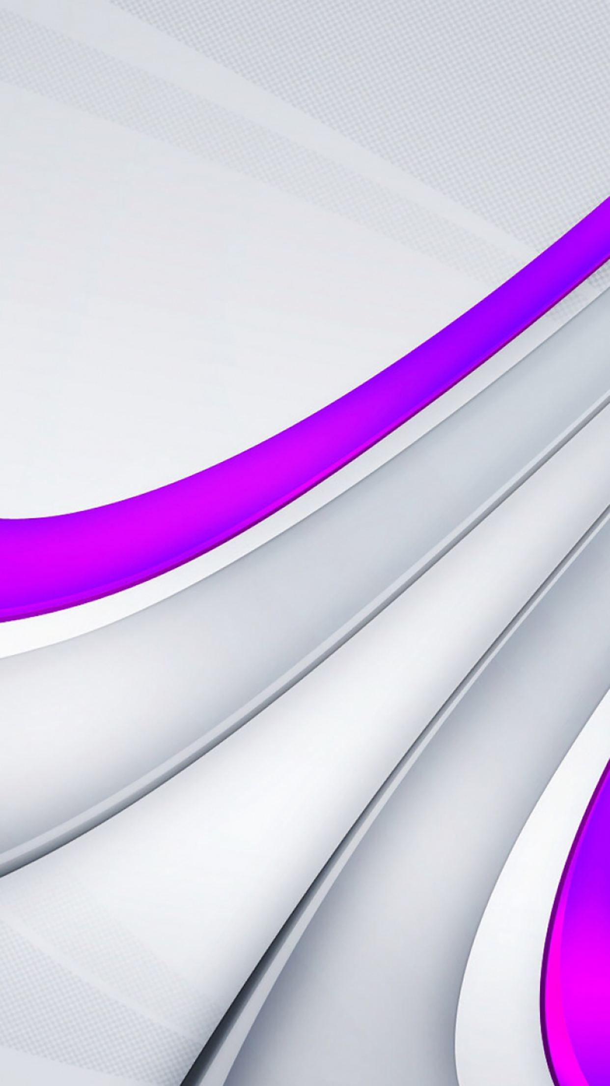 Painting White Violet 3Wallpapers iPhone Parallax Painting : White Violet