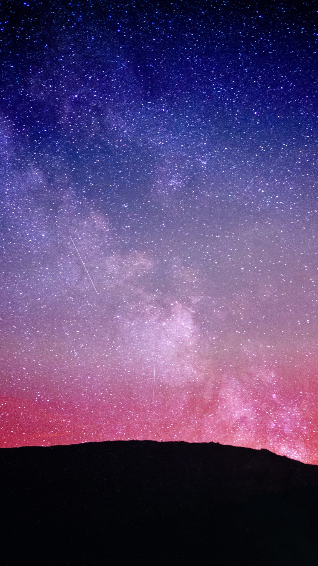 Iphone 6s Wallpaper Fall Starry Sky Wallpaper For Iphone X 8 7 6 Free Download