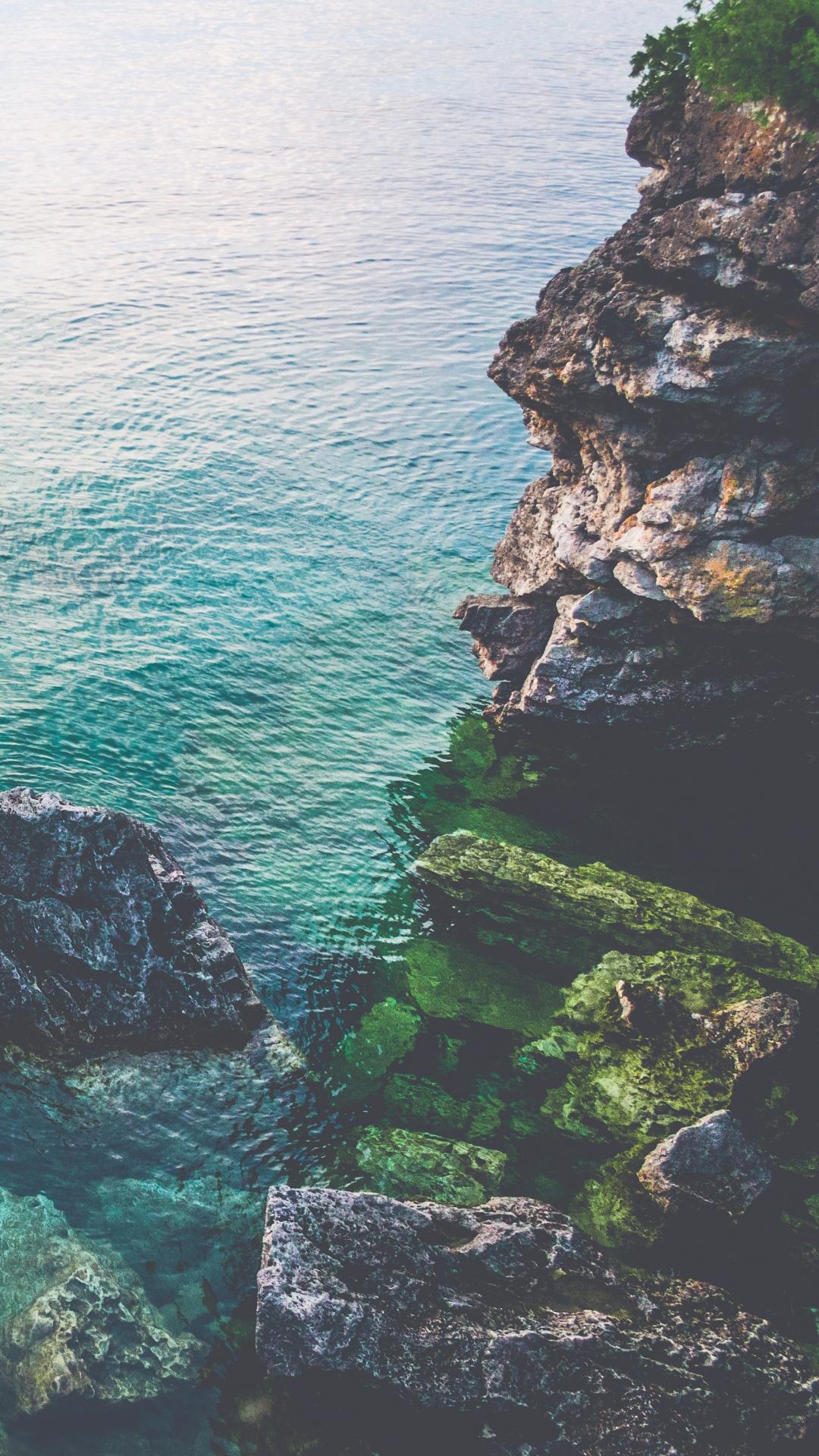 rocks sea tobermory ontario canada 115049 1080x1920 Rocks