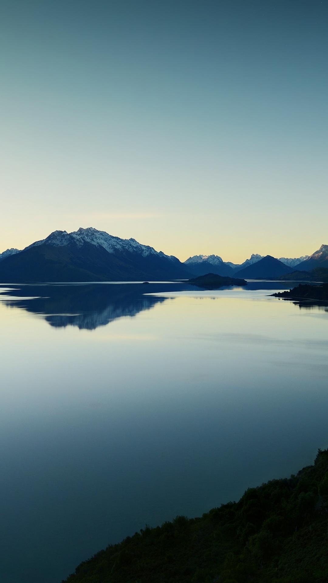 iPhone wallpaper 3wallpapers lake sky evening Lake