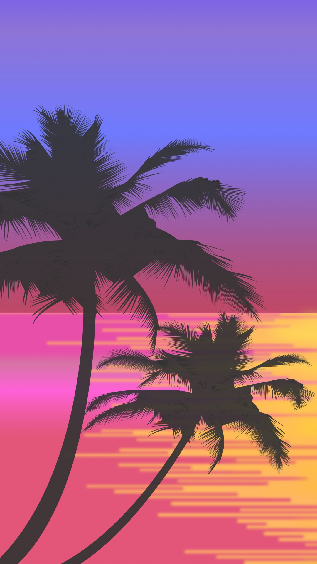 Black And White Wallpaper Iphone 6 Cute Palm Tree Wallpaper For Iphone X 8 7 6 Free Download