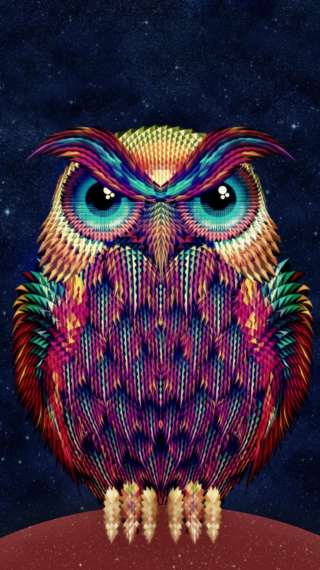 iPhone wallpaper owl art Owl