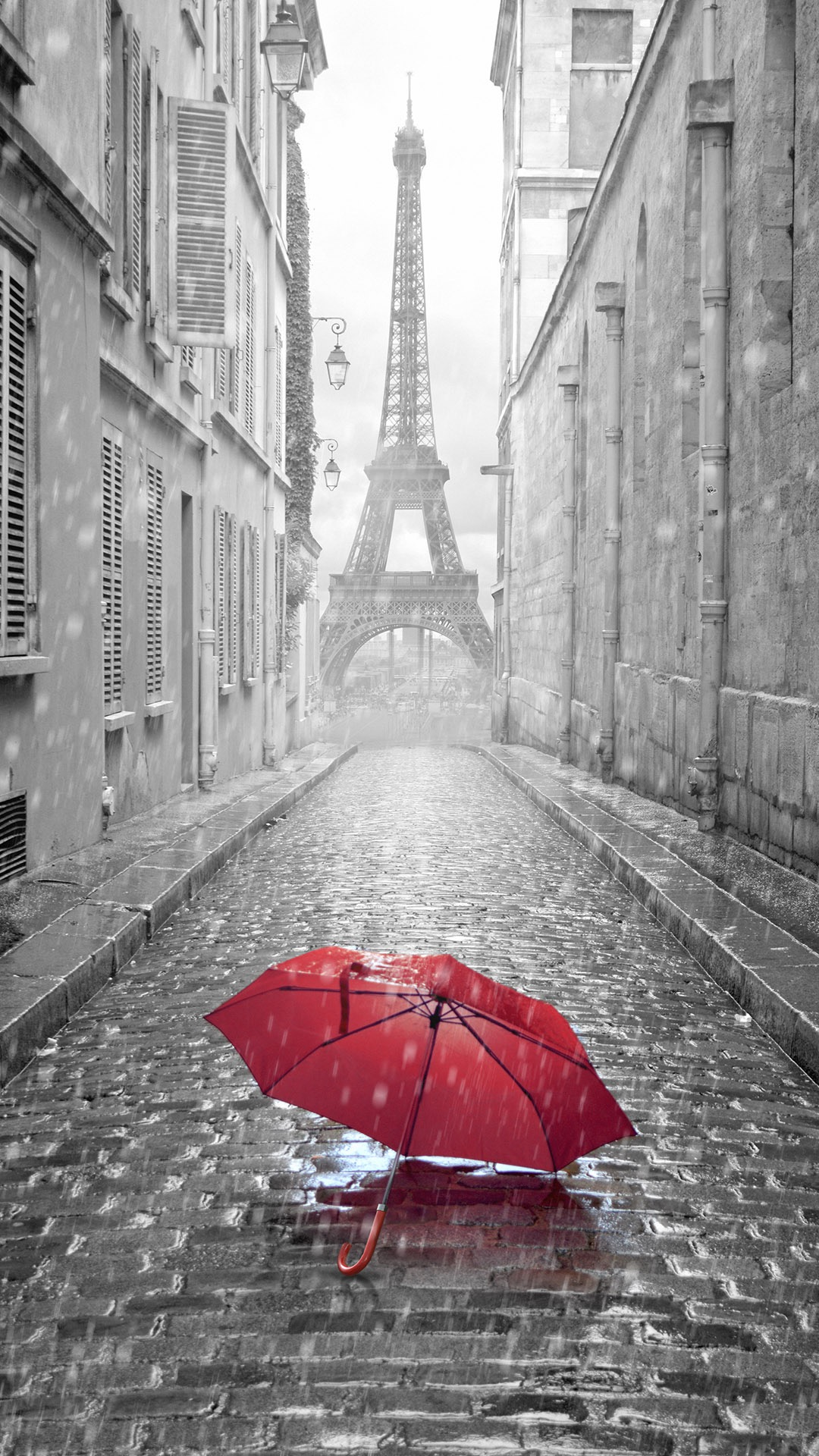 iPhone wallpaper paris rain Rain