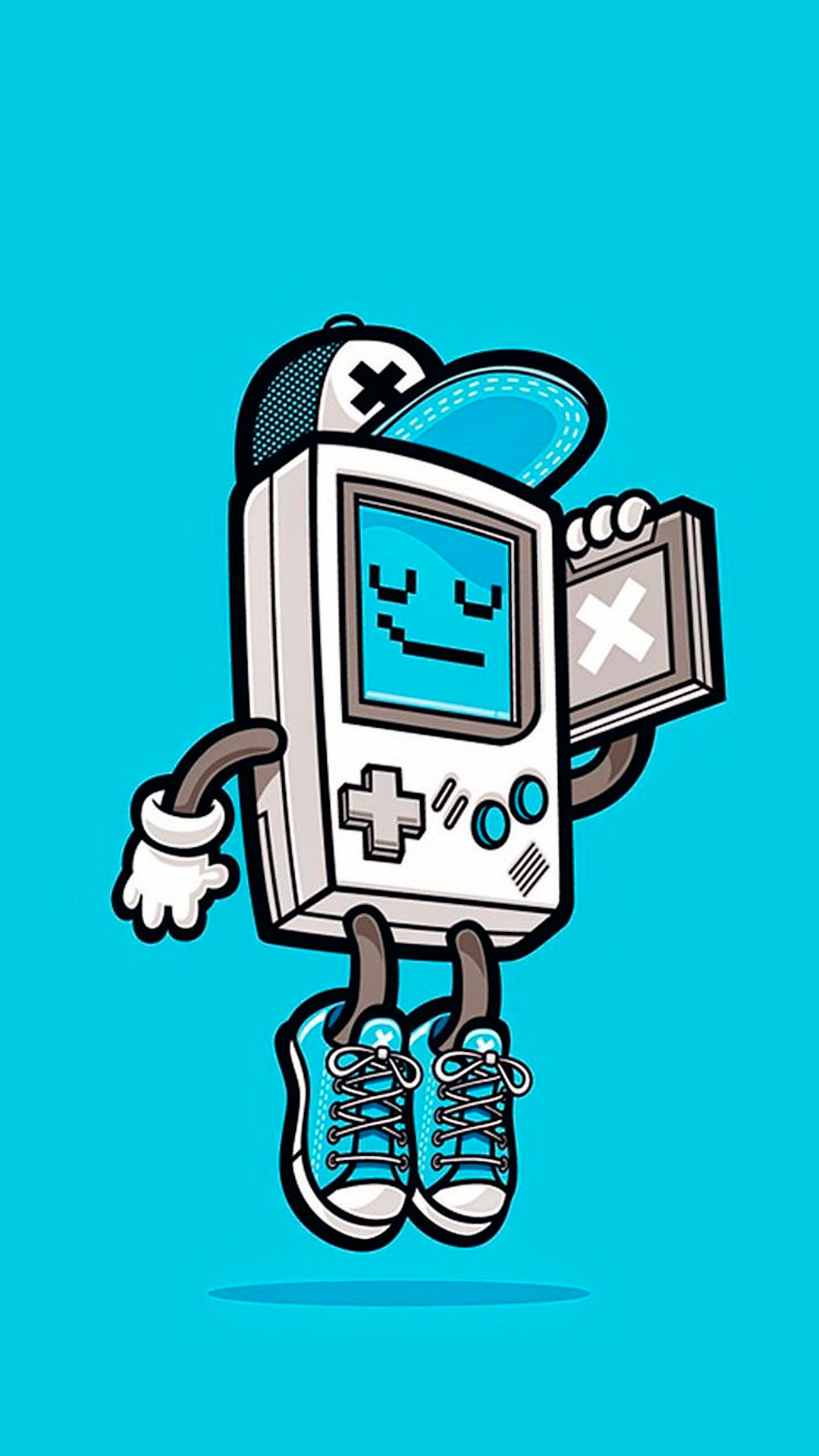 Gameboy Iphone X Wallpaper Retro Games Wallpaper For Iphone X 8 7 6 Free