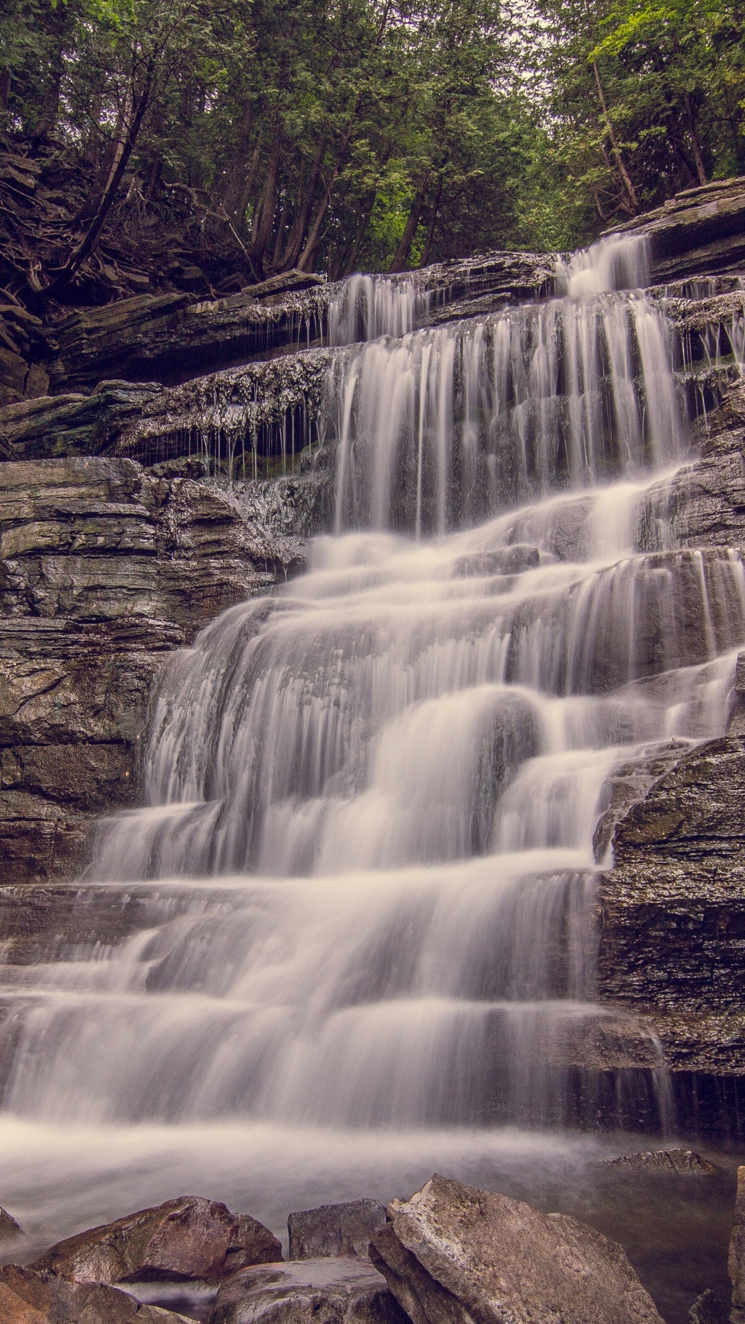 iPhone wallpaper waterfall2 Waterfall