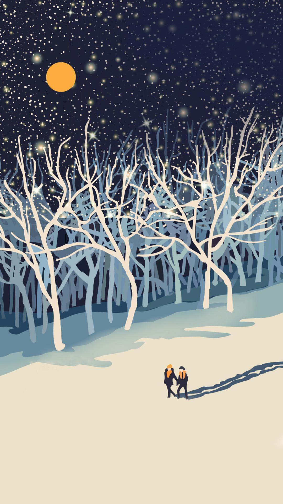 iPhone wallpaper illustration3 Illustration
