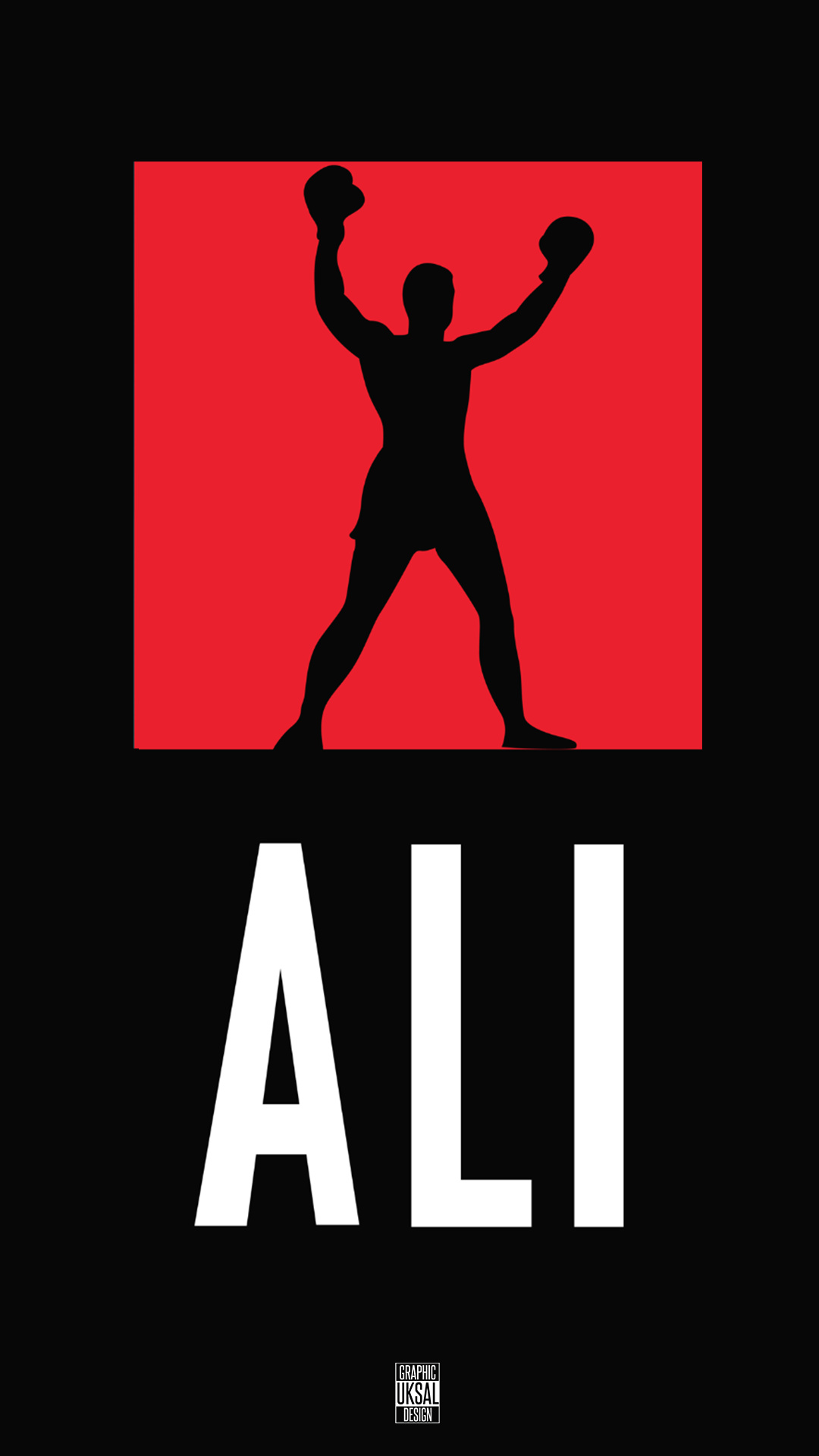 Silhouette Iphone Wallpaper Muhammad Ali Wallpaper For Iphone X 8 7 6 Free
