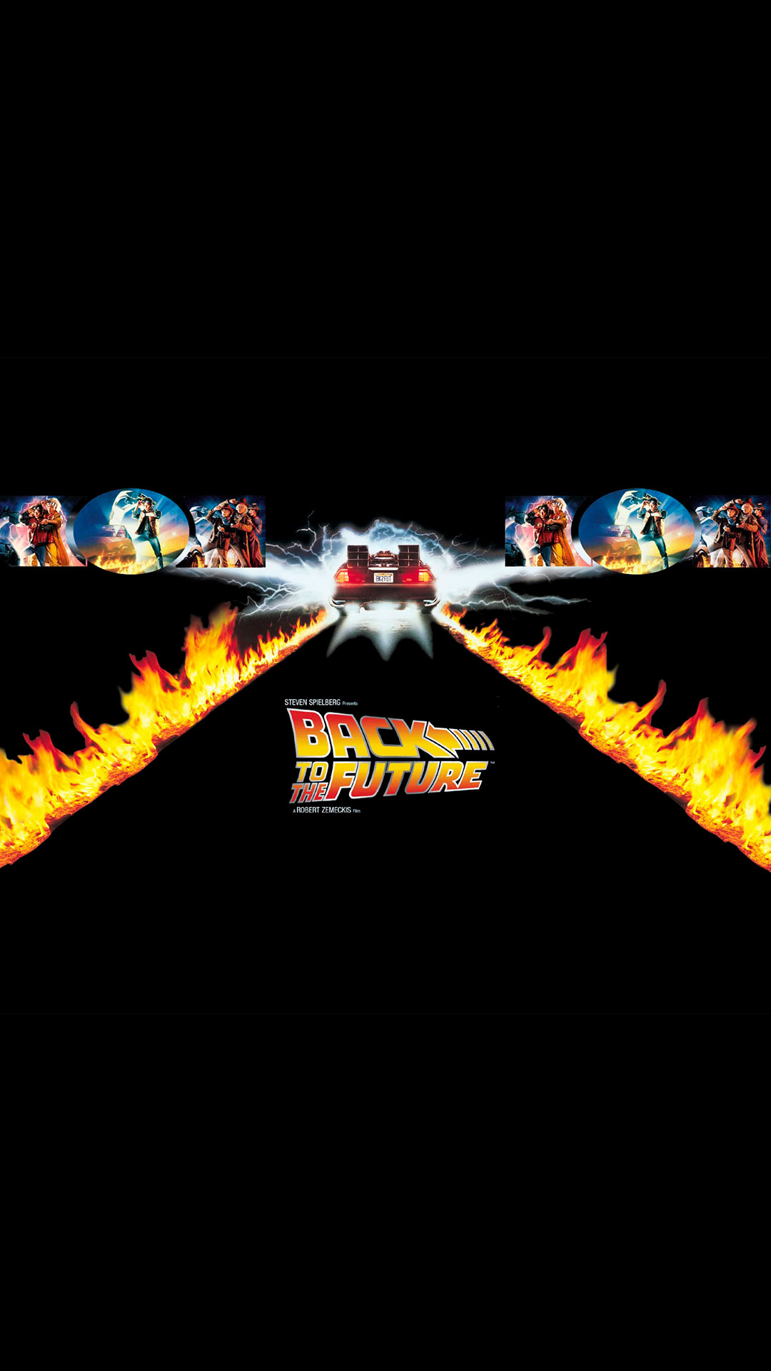 Cartoon Girl Wallpapers Free Download Back To The Future Wallpaper For Iphone X 8 7 6 Free