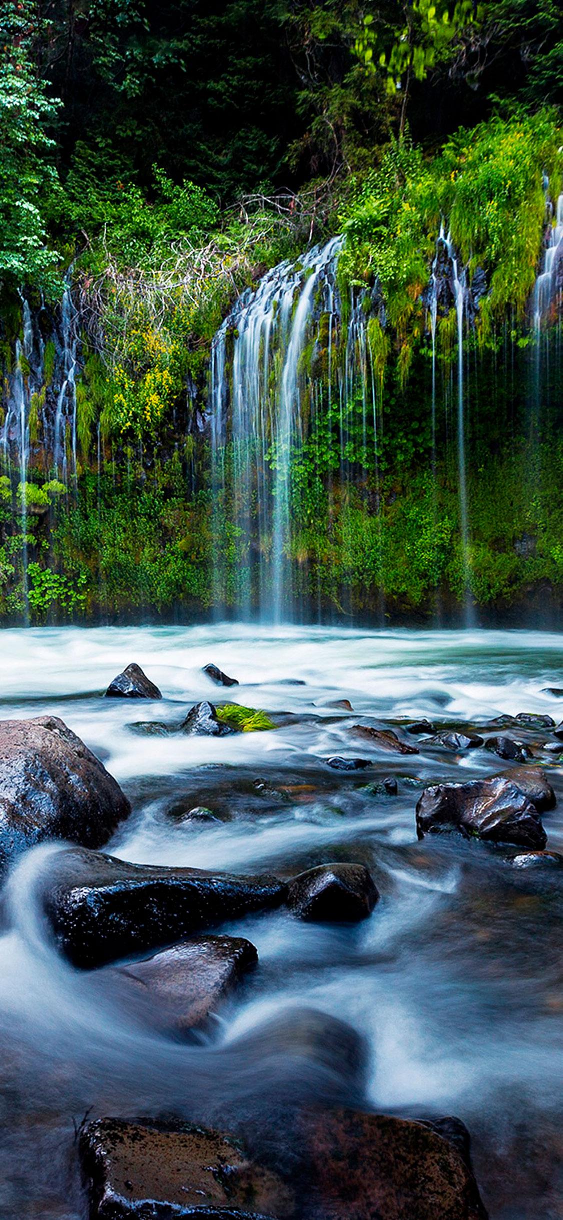 iPhone wallpaper waterfall3 Waterfall