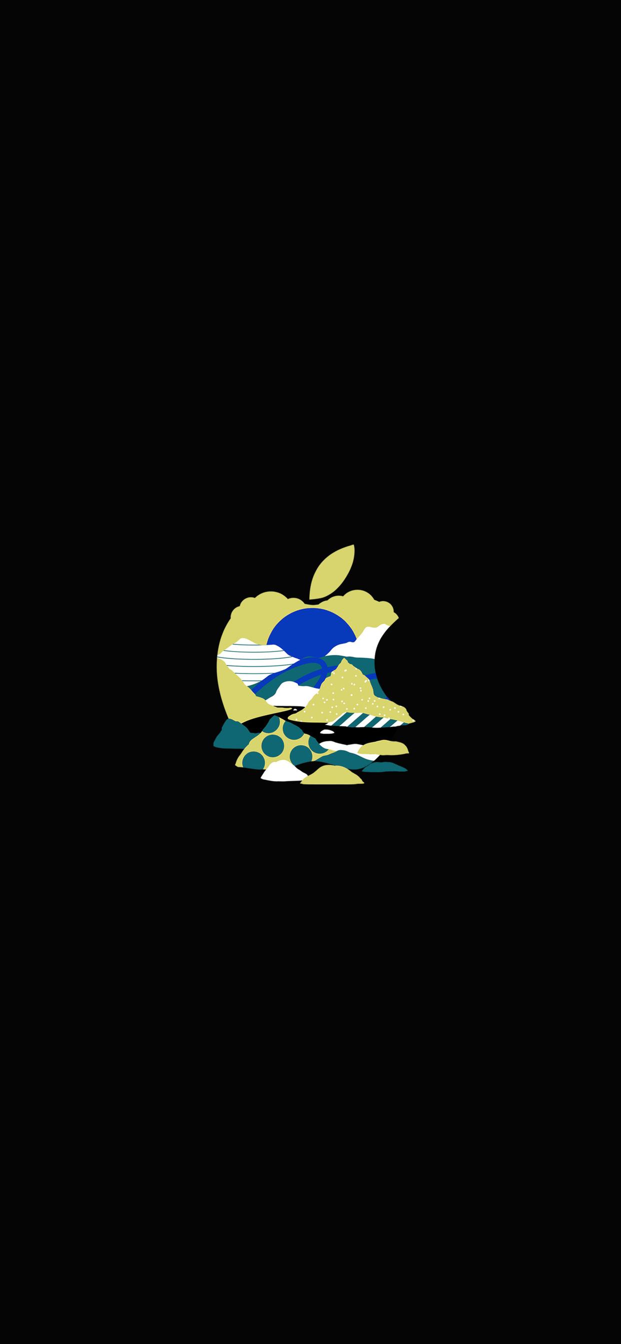 iPhone wallpaper apple logo 7 Apple logo