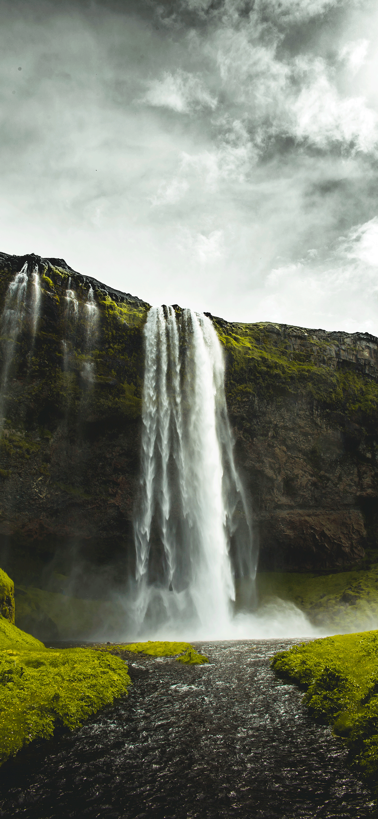 iPhone wallpaper iceland seljalandsfoss Iceland