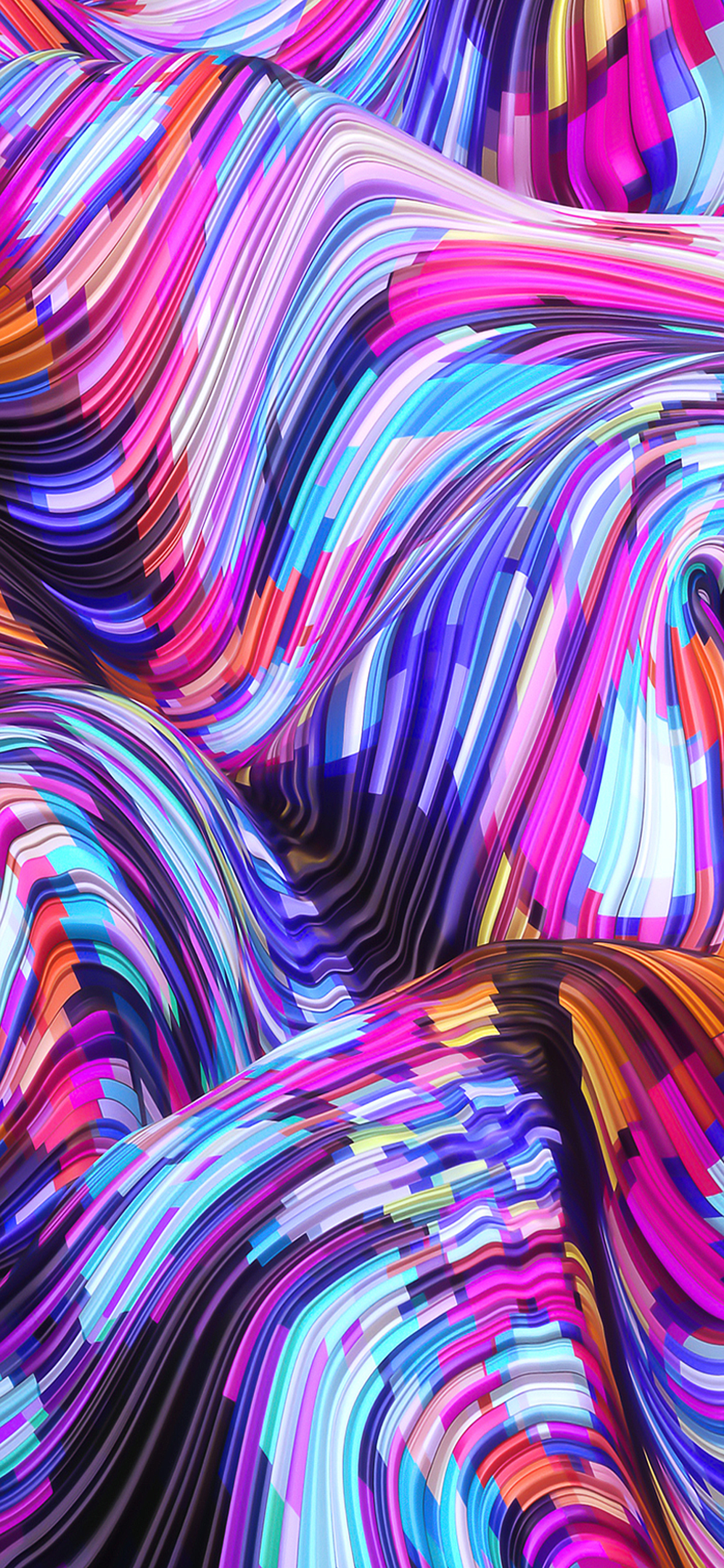 iPhone wallpapers abstract waves Abstract