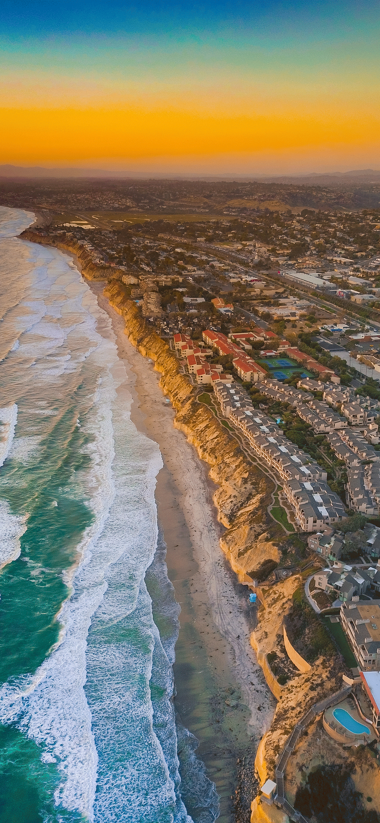 iPhone wallpaper aerial images san diego Aerial images