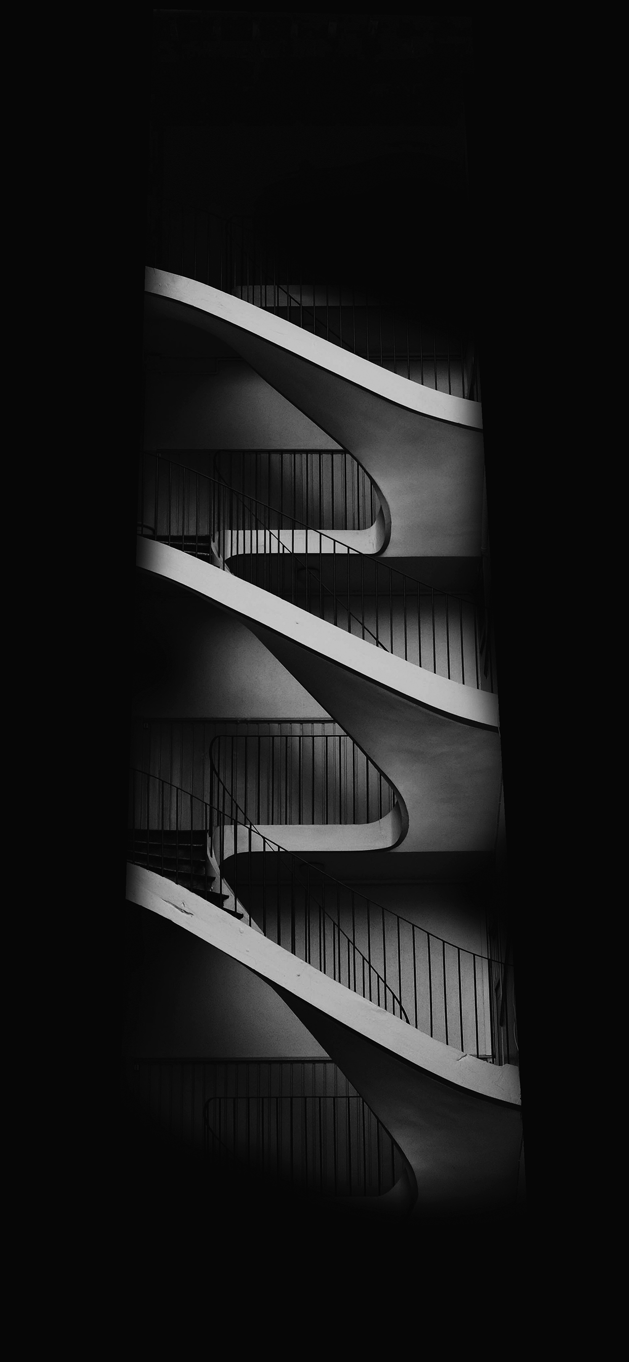 iPhone wallpapers dark stairs Dark