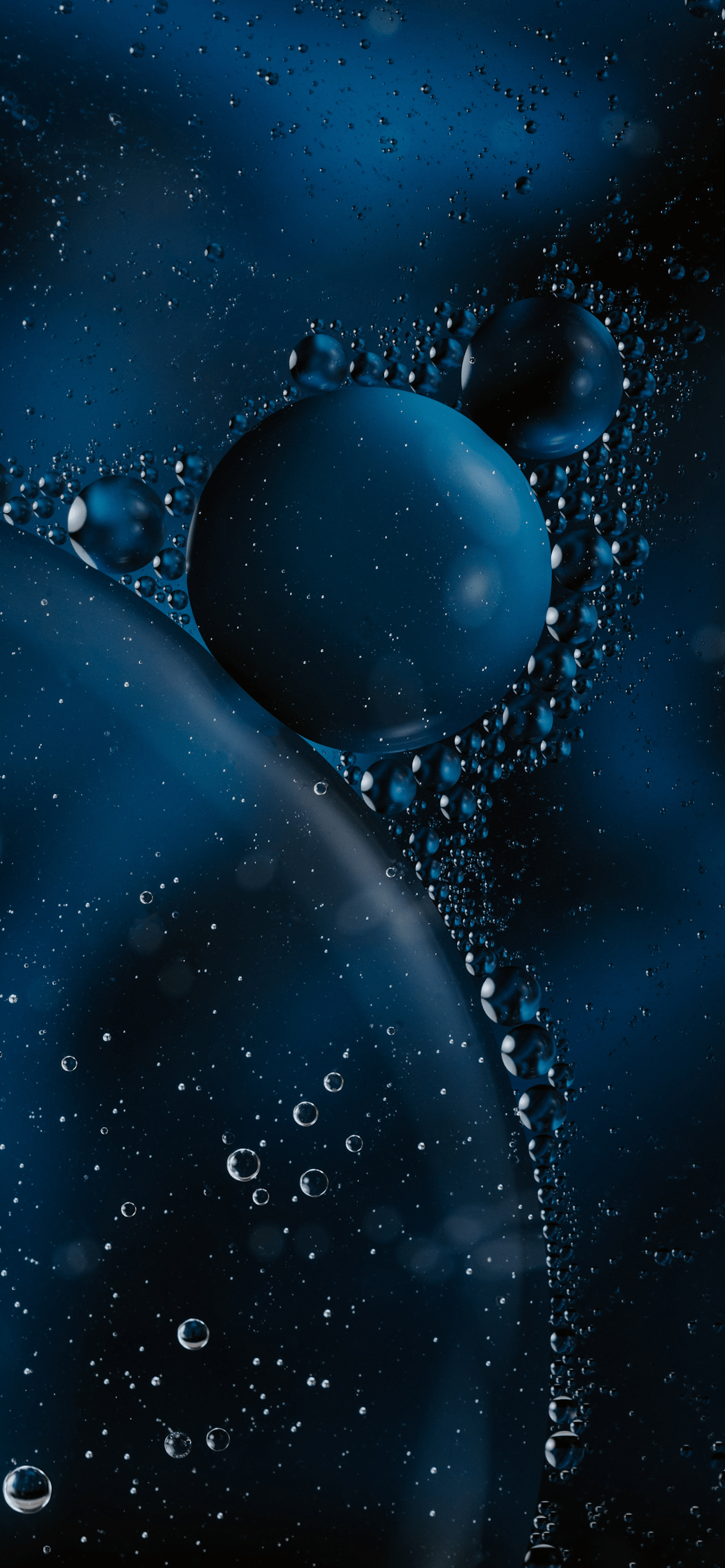 iPhone wallpapers bubbles dark Bubbles