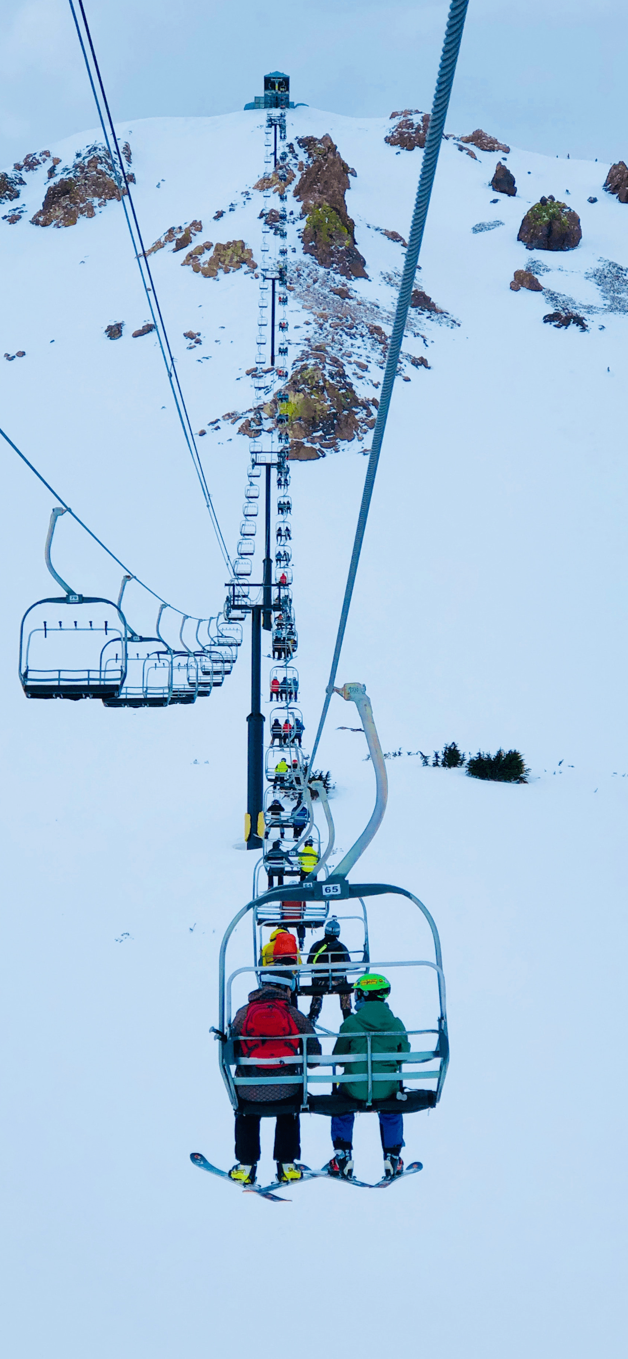 iPhone wallpapers cableway snow Cableway